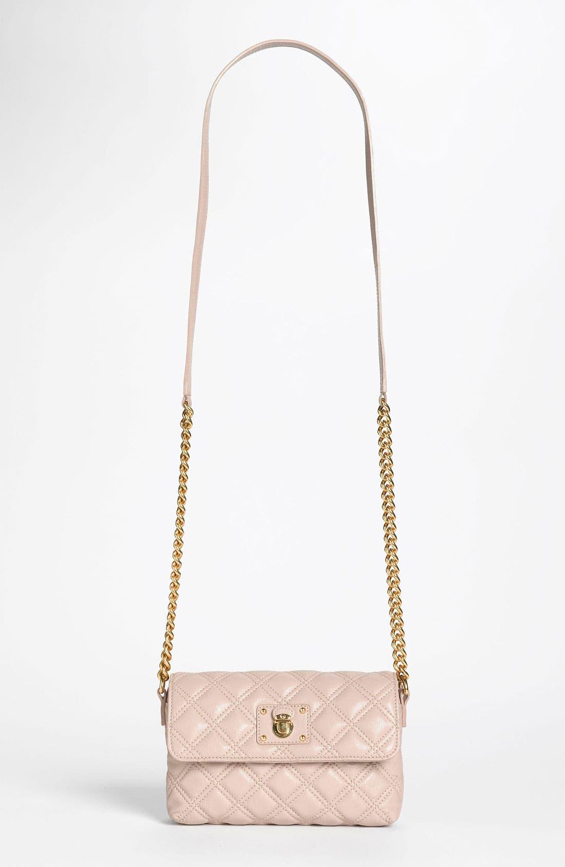 Main Image - MARC JACOBS 'Quilting - Single' Leather Shoulder Bag