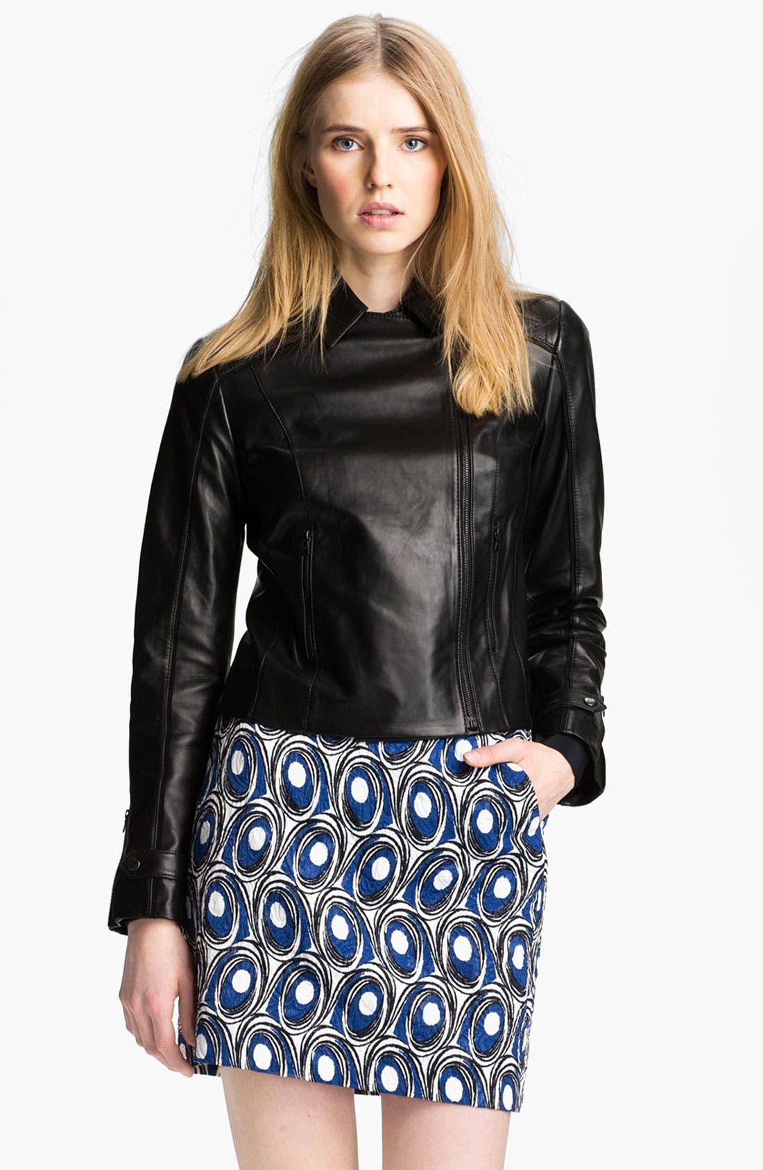 Alternate Image 3  - Miss Wu Leather Biker Jacket (Nordstrom Exclusive)