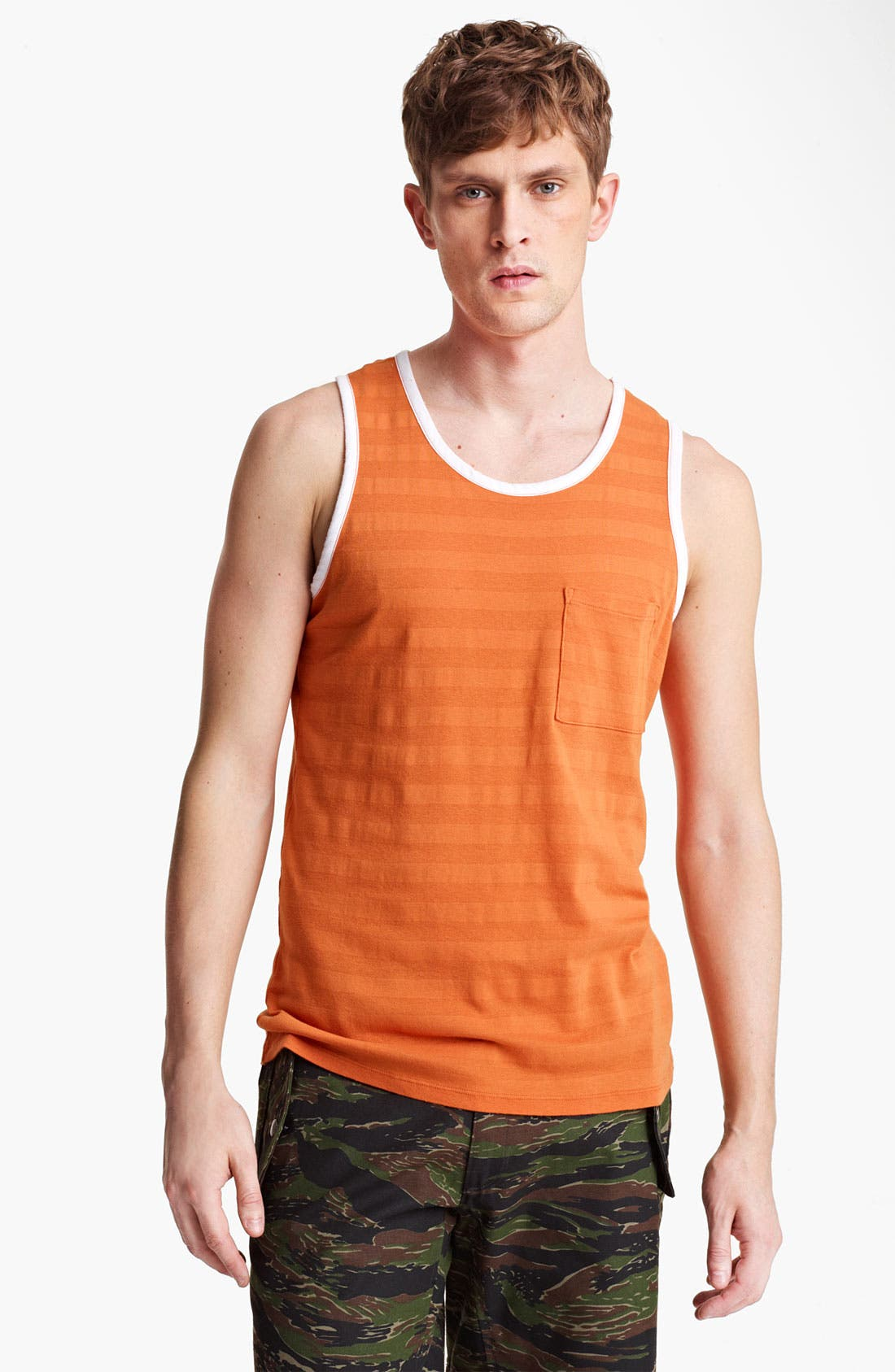 Alternate Image 1 Selected - Field Scout Shadow Stripe Tank Top