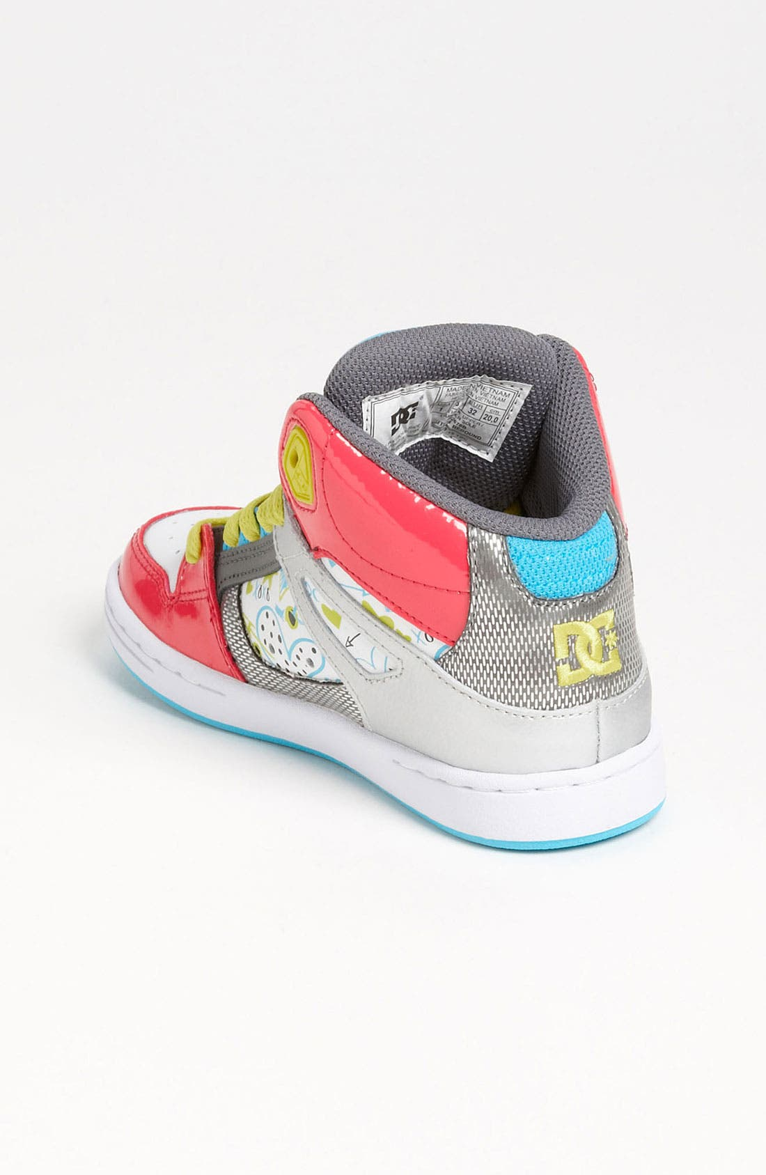 Alternate Image 2  - DC Shoes 'Rebound' Skate Shoe (Toddler, Little Kid & Big Kid)