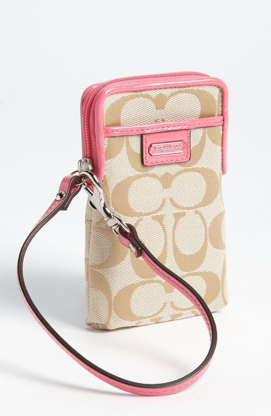 Main Image - COACH 'Signature' Universal Phone Case