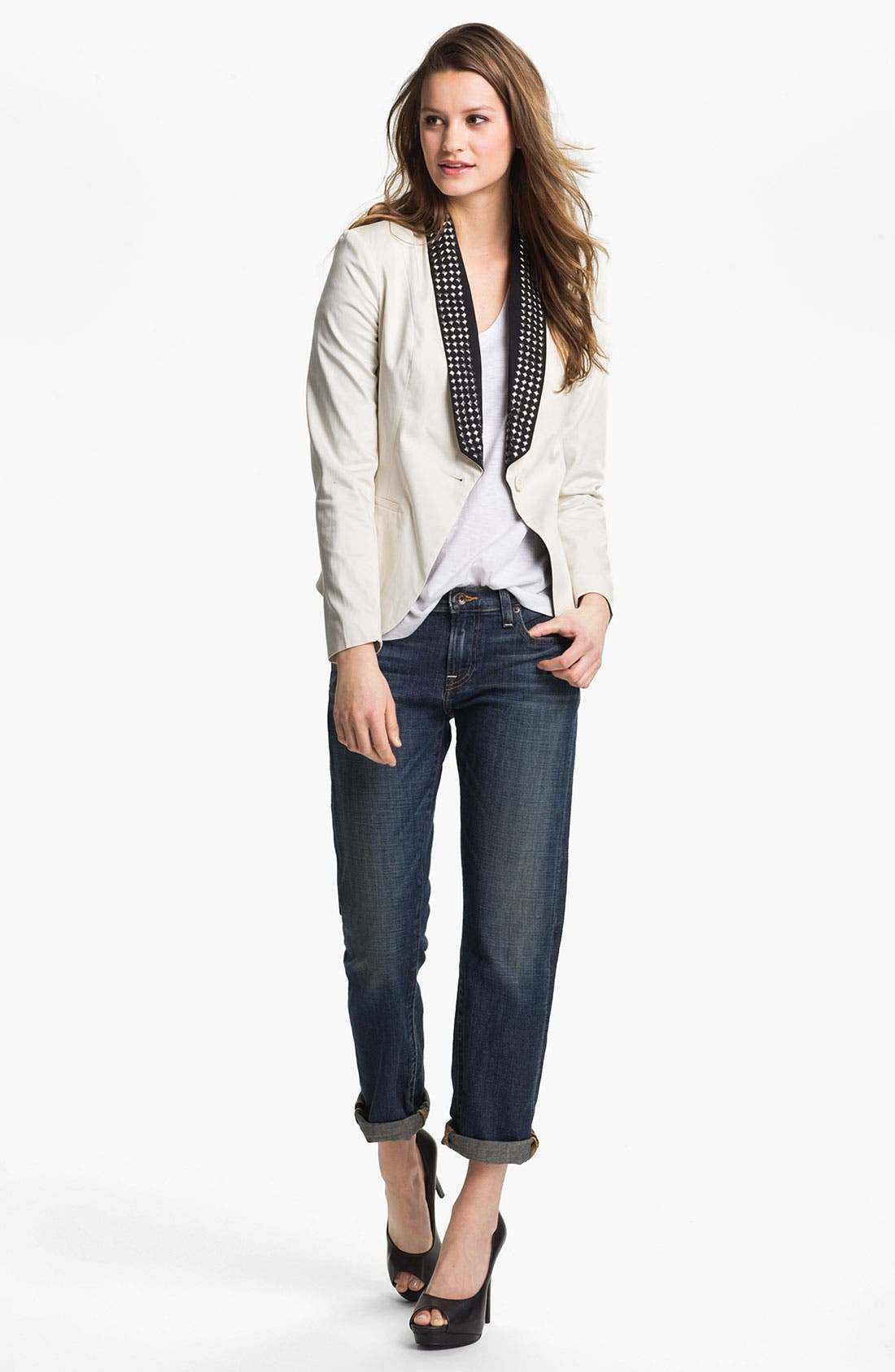 Alternate Image 5  - Lucky Brand 'Sienna' Tomboy Crop Jeans
