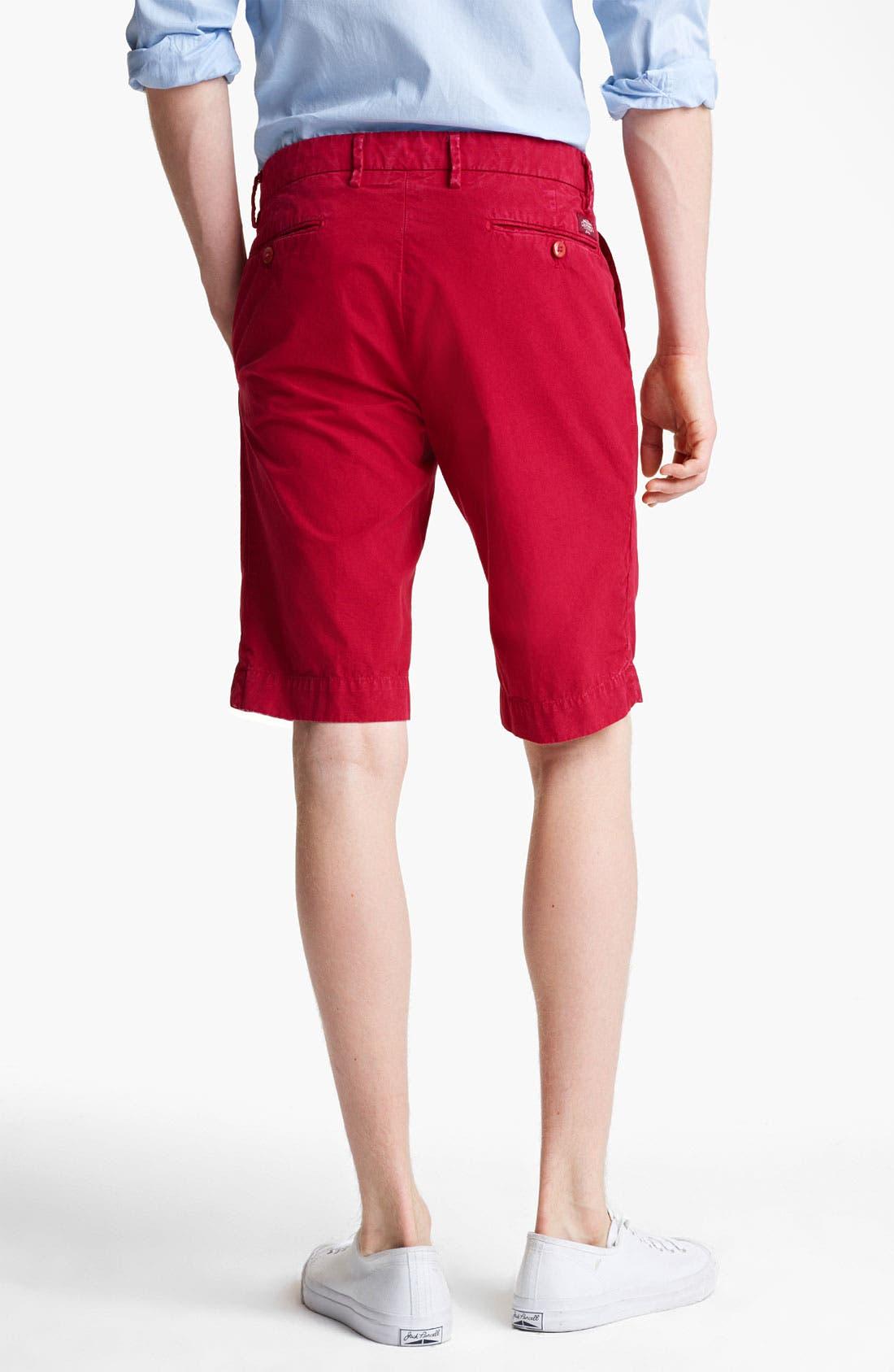 Alternate Image 2  - Mason's New York Fit Cotton Shorts