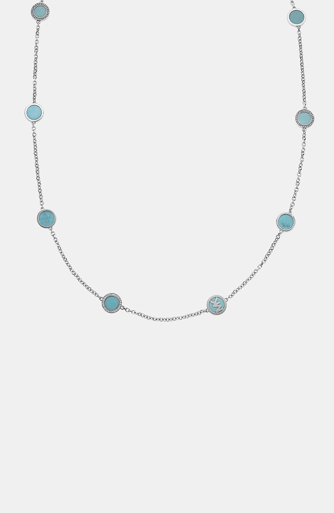Alternate Image 3  - Michael Kors Long Station Necklace