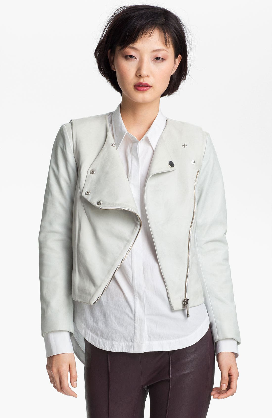 Alternate Image 1 Selected - Twenty8Twelve 'Rae' Leather Jacket
