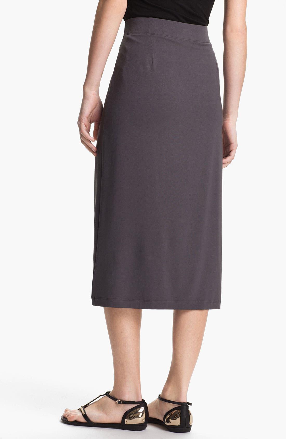 Alternate Image 2  - Eileen Fisher Pull On Pencil Skirt
