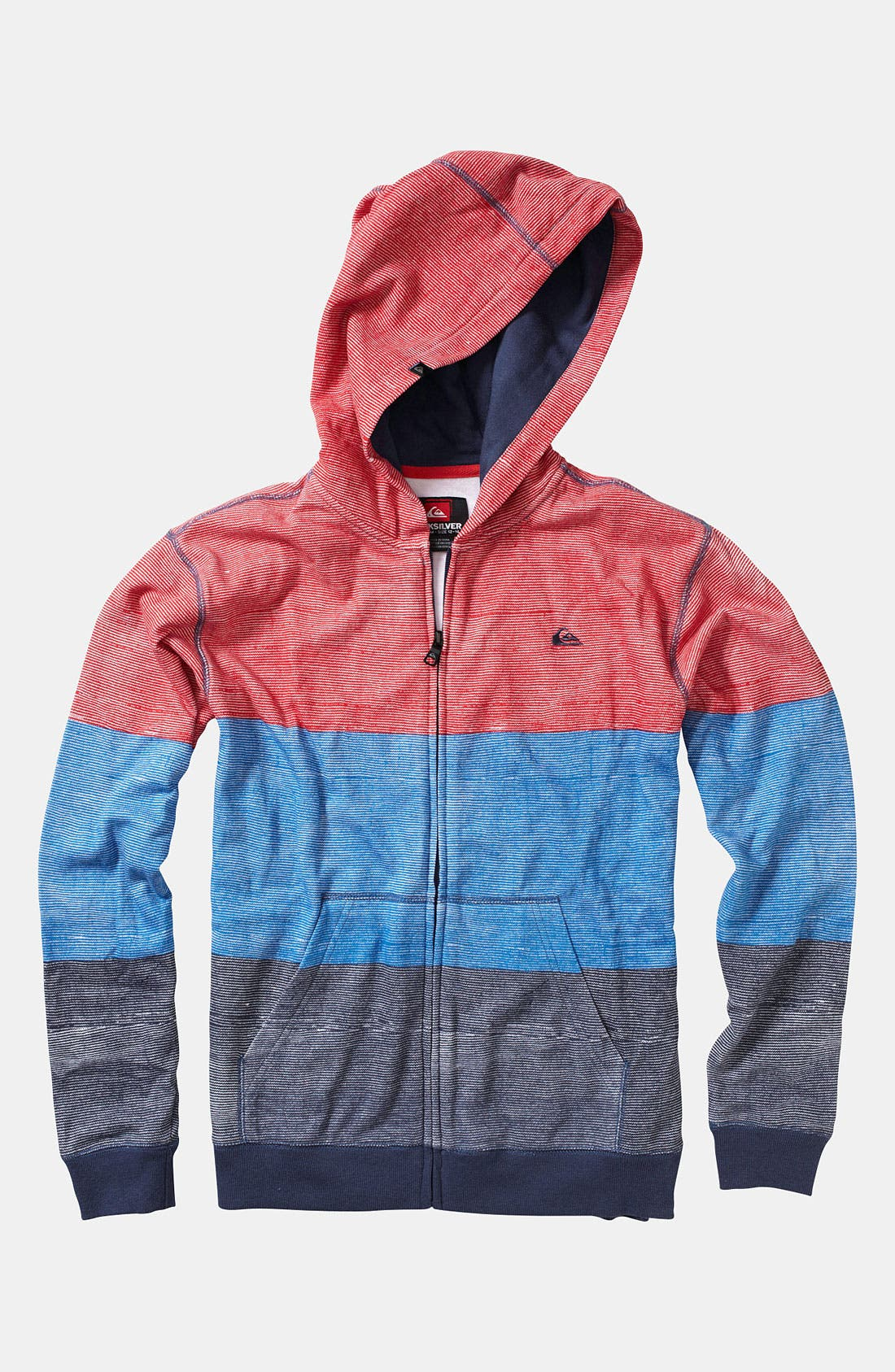 Alternate Image 1 Selected - Quiksilver 'Suave' Zip Hoodie (Infant)
