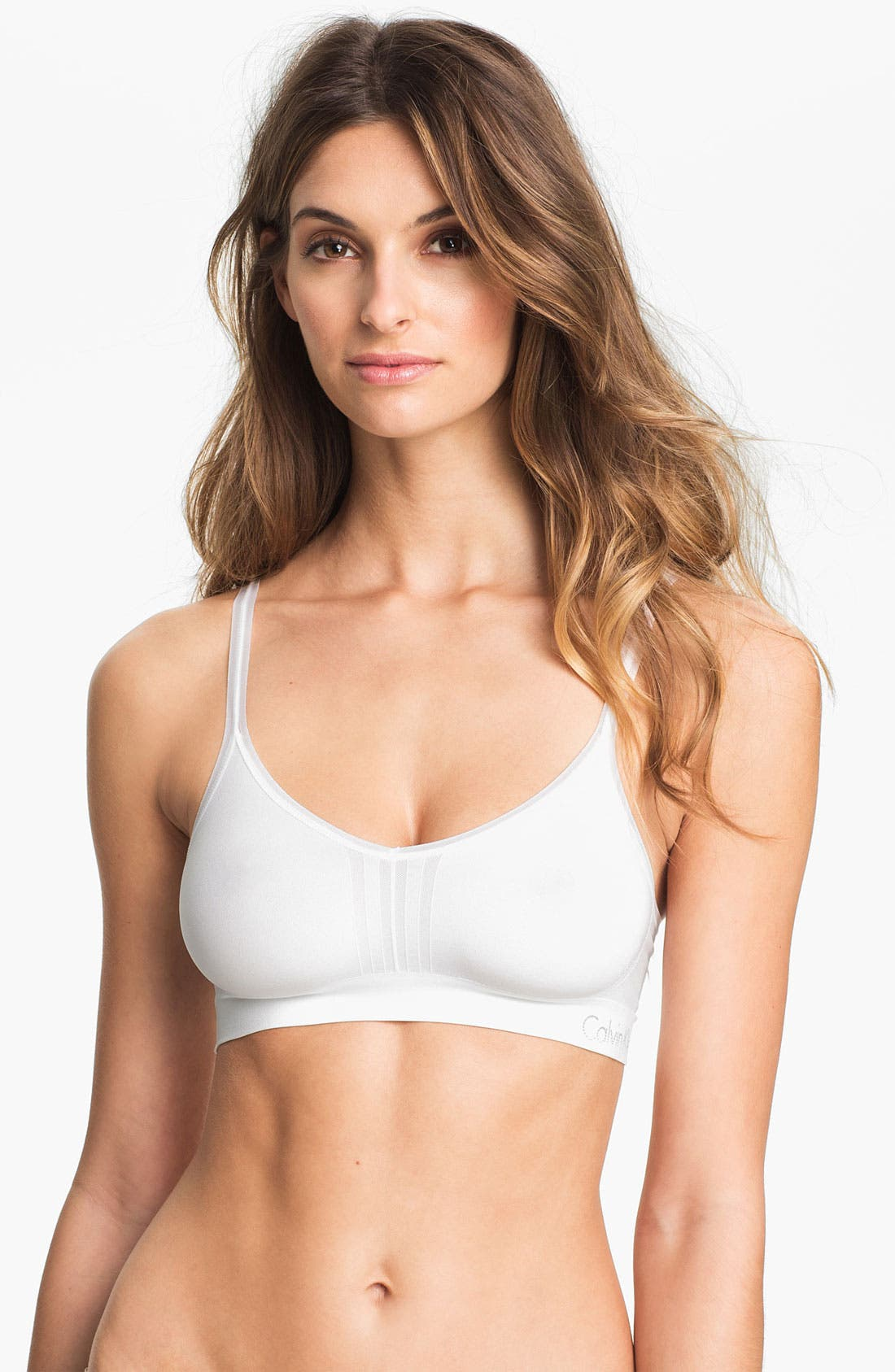 Alternate Image 1 Selected - Calvin Klein 'Concept' Bralette