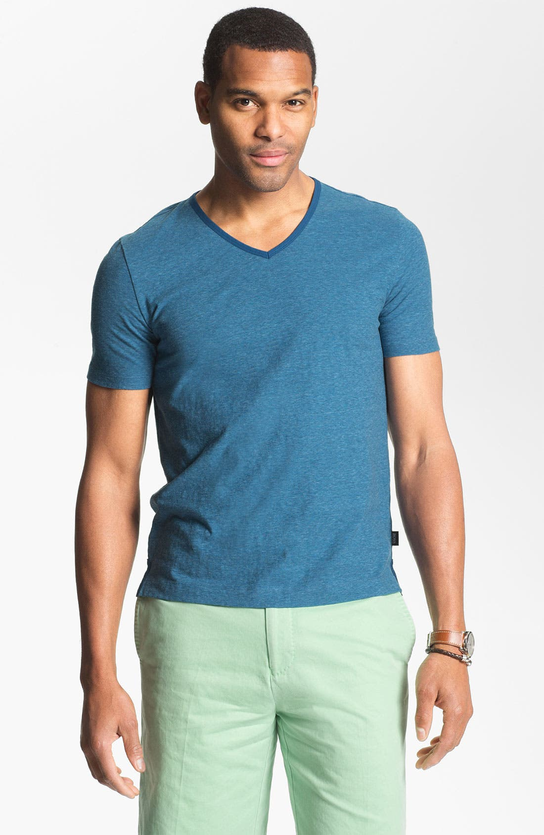 Alternate Image 1 Selected - BOSS HUGO BOSS 'Eraldo 53' V-Neck T-Shirt