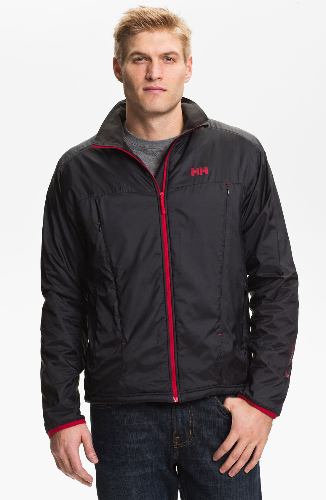 Alternate Image 1 Selected - Helly Hansen 'H2 Flow™' Fleece Lined Jacket