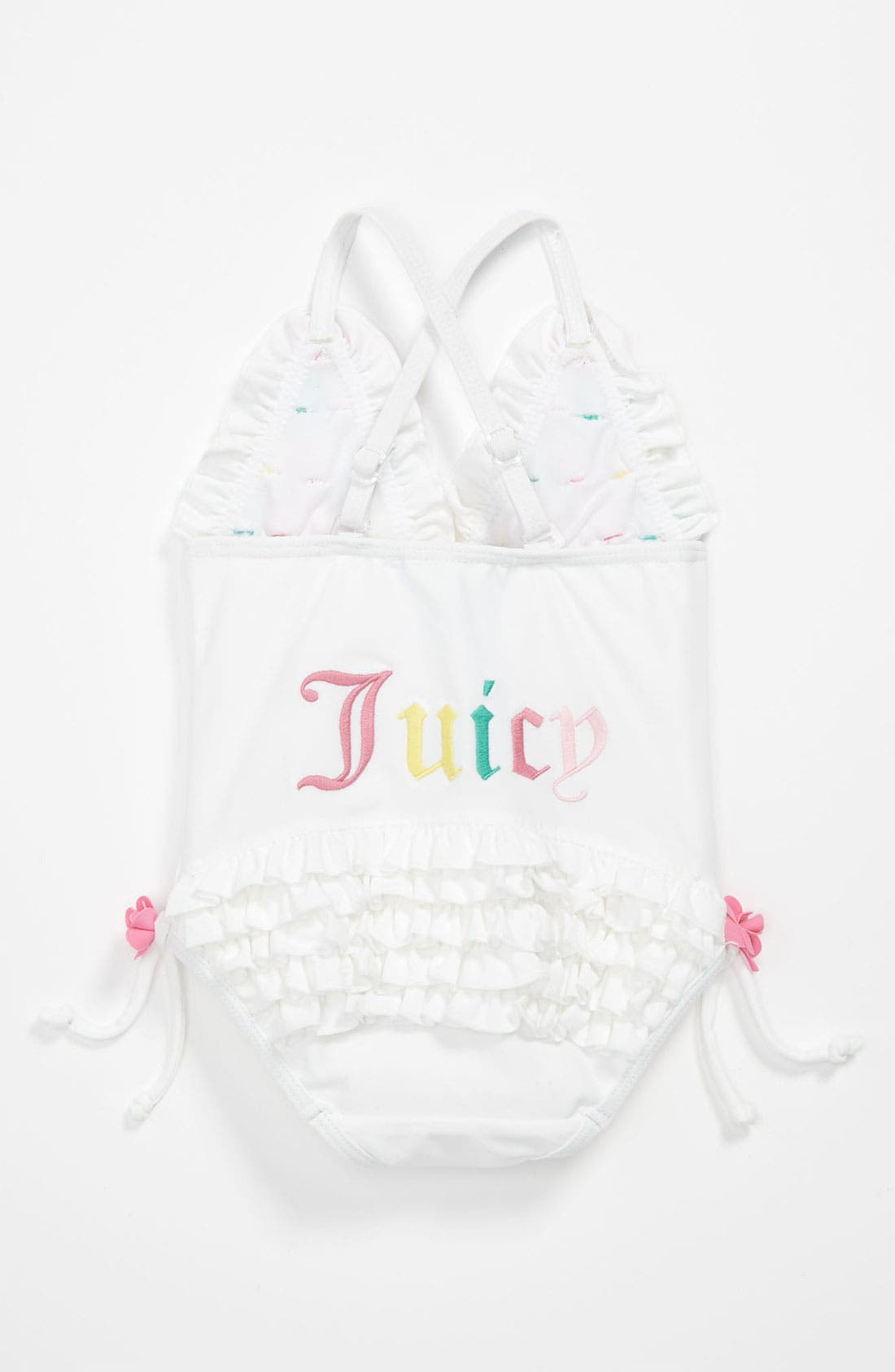 Alternate Image 2  - Juicy Couture One Piece Swimsuit (Infant)