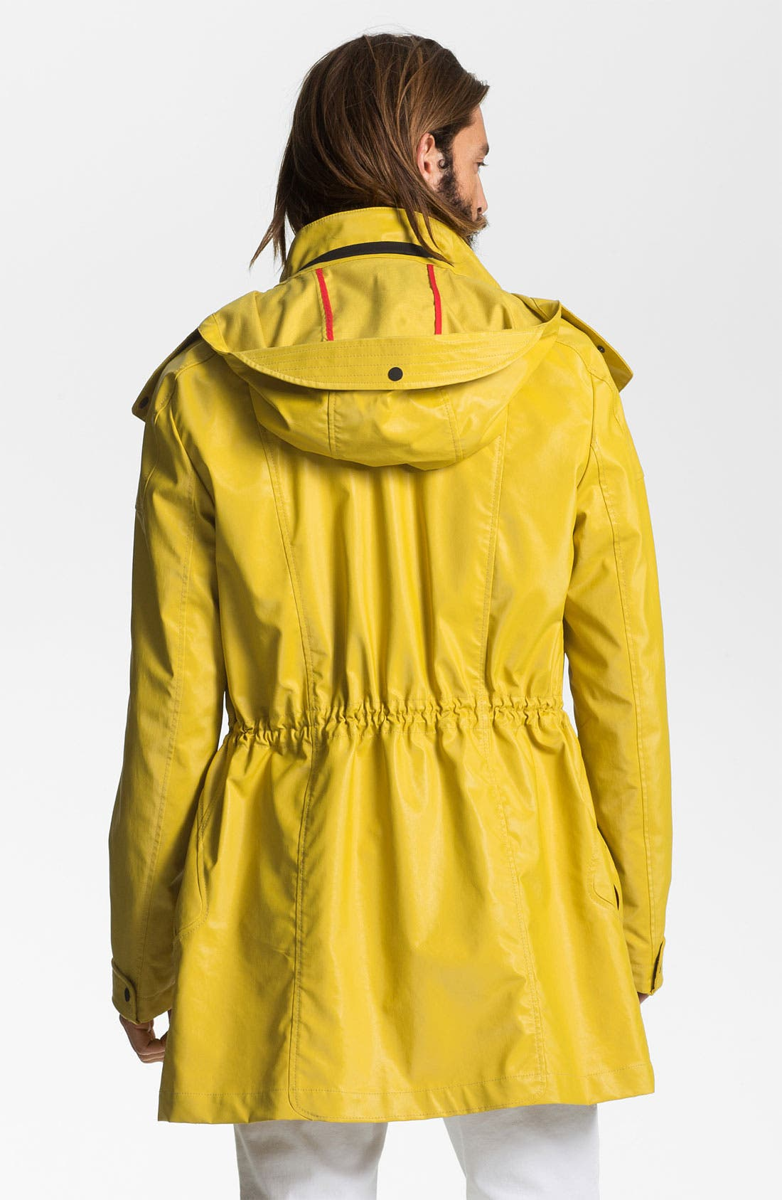 Alternate Image 2  - HUGO 'Marinus' Rain Coat (Online Exclusive)