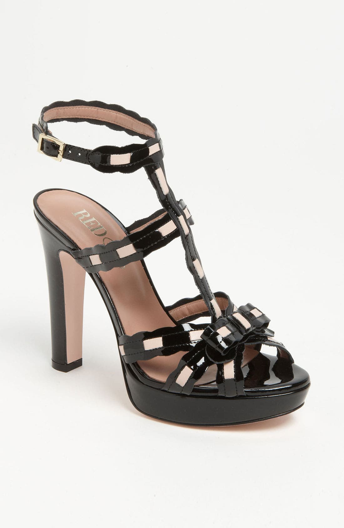 Alternate Image 1 Selected - RED Valentino Patent Sandal