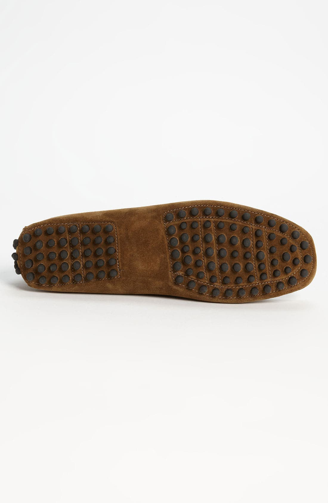 'Antigua' Driving Shoe,                             Alternate thumbnail 4, color,                             Tobacco Suede