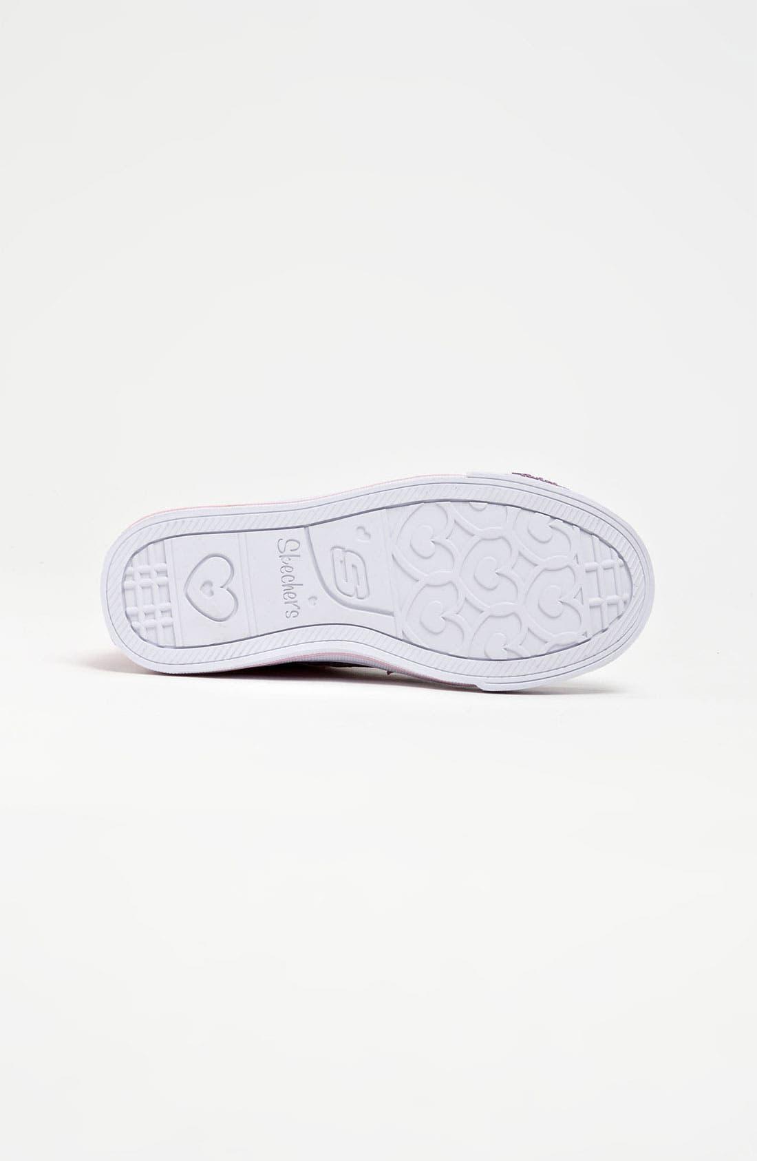 Alternate Image 4  - SKECHERS 'Shuffles S Lights -  5 Alive' Sneaker (Toddler & Little Kid)