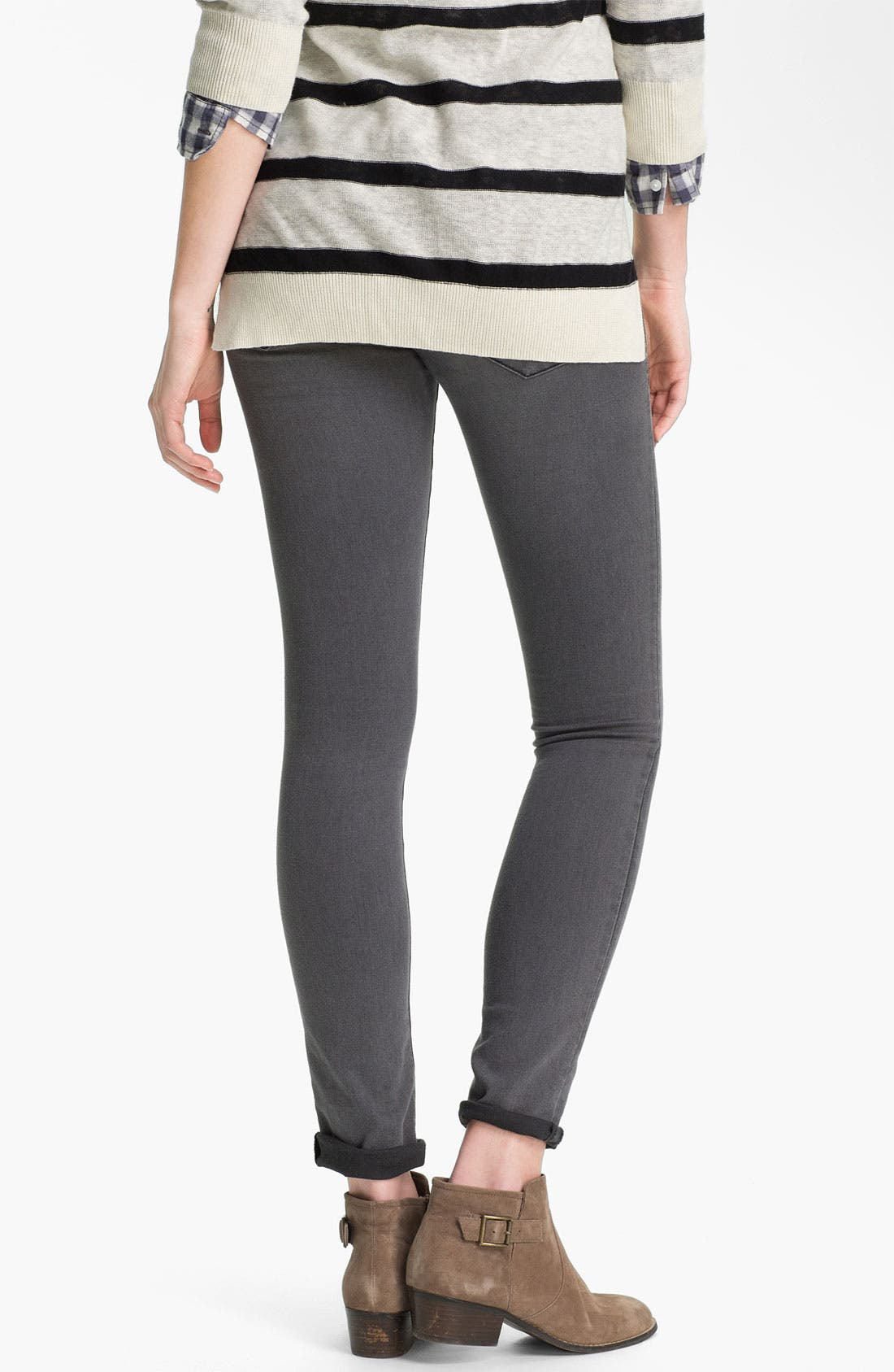 Alternate Image 2  - Articles of Society 'Mya' Skinny Jeans (Greyson) (Juniors)