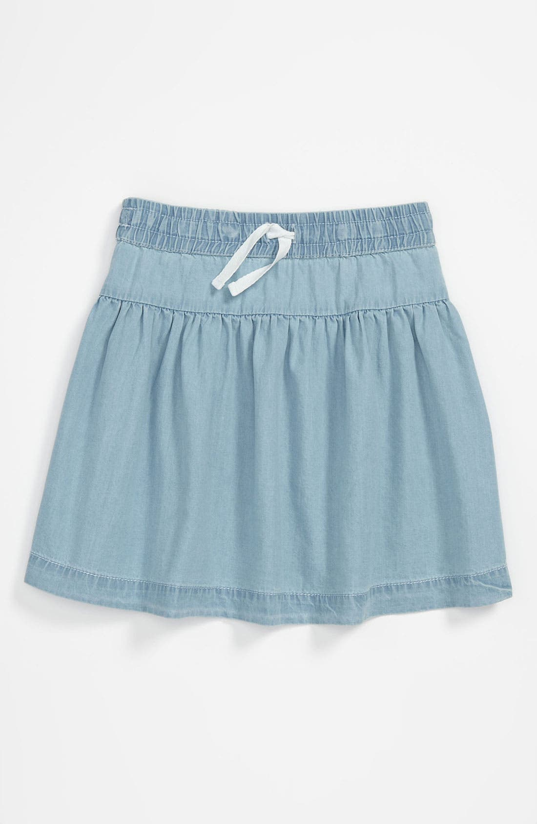 Main Image - Tucker + Tate 'Pippa' Chambray Skirt (Big Girls)