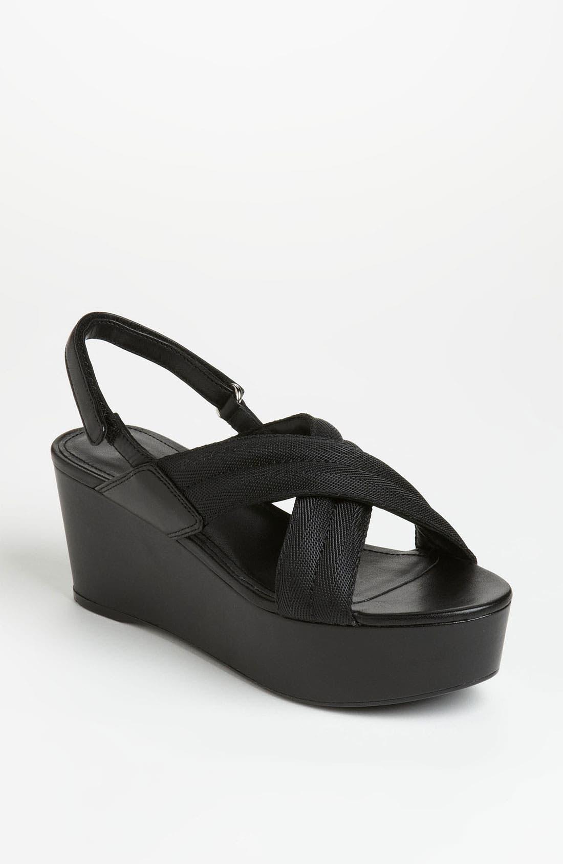 Alternate Image 1 Selected - Prada Sandal