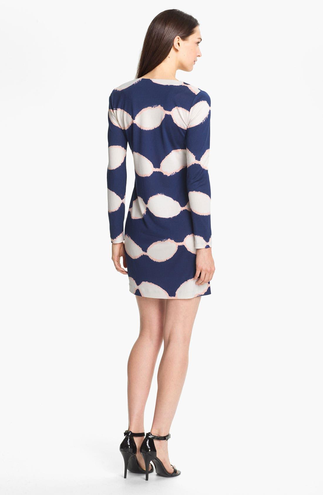 Alternate Image 2  - Diane von Furstenberg 'Reina' Silk A-Line Dress