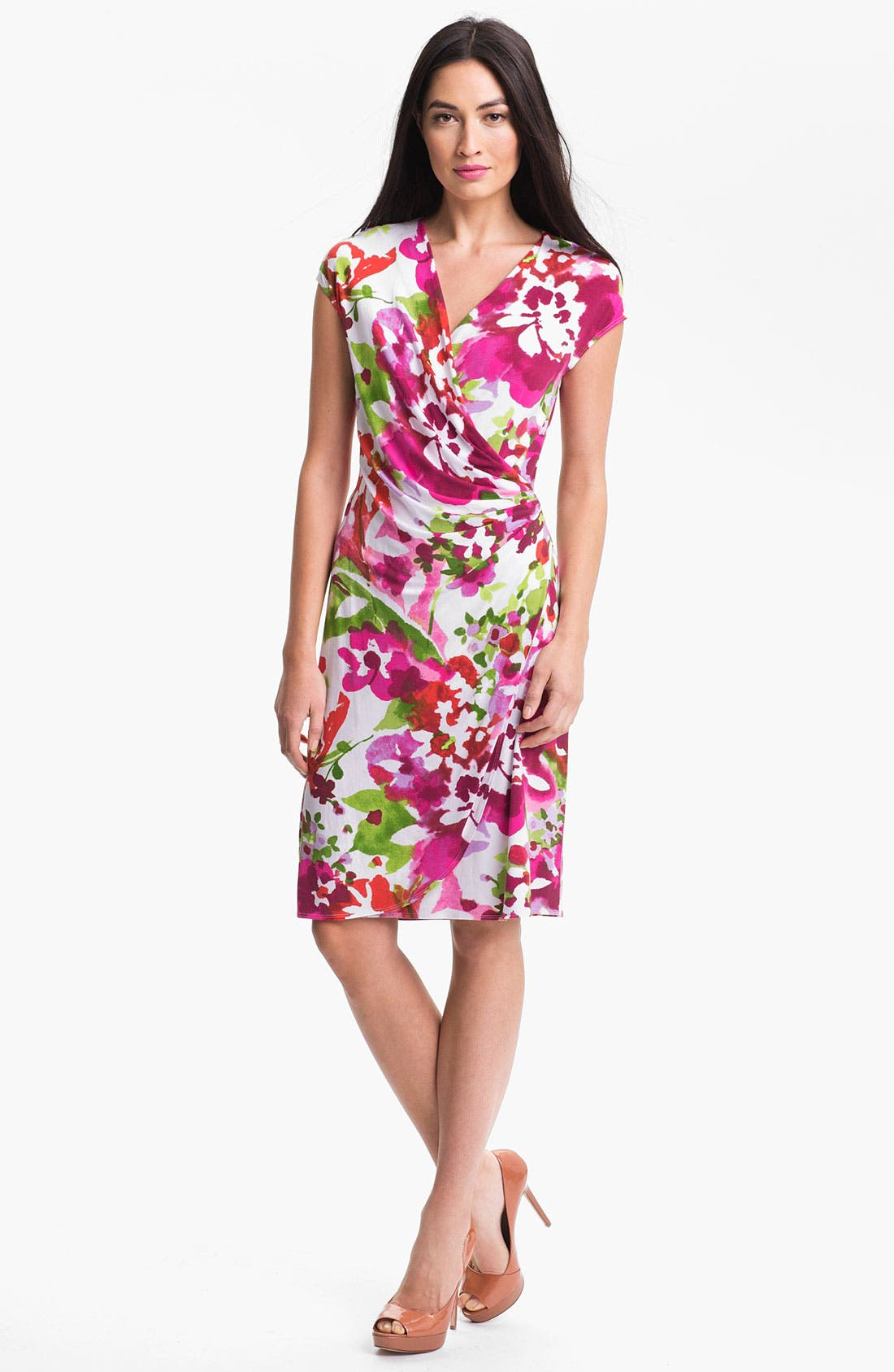 Alternate Image 1 Selected - Tommy Bahama 'Madcap A Floral' Dress