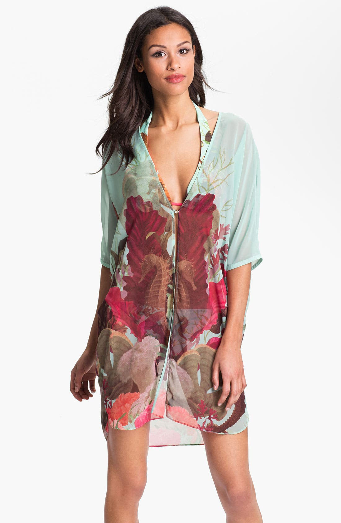 Alternate Image 1 Selected - Ted Baker London 'Under the Sea' Cover-Up
