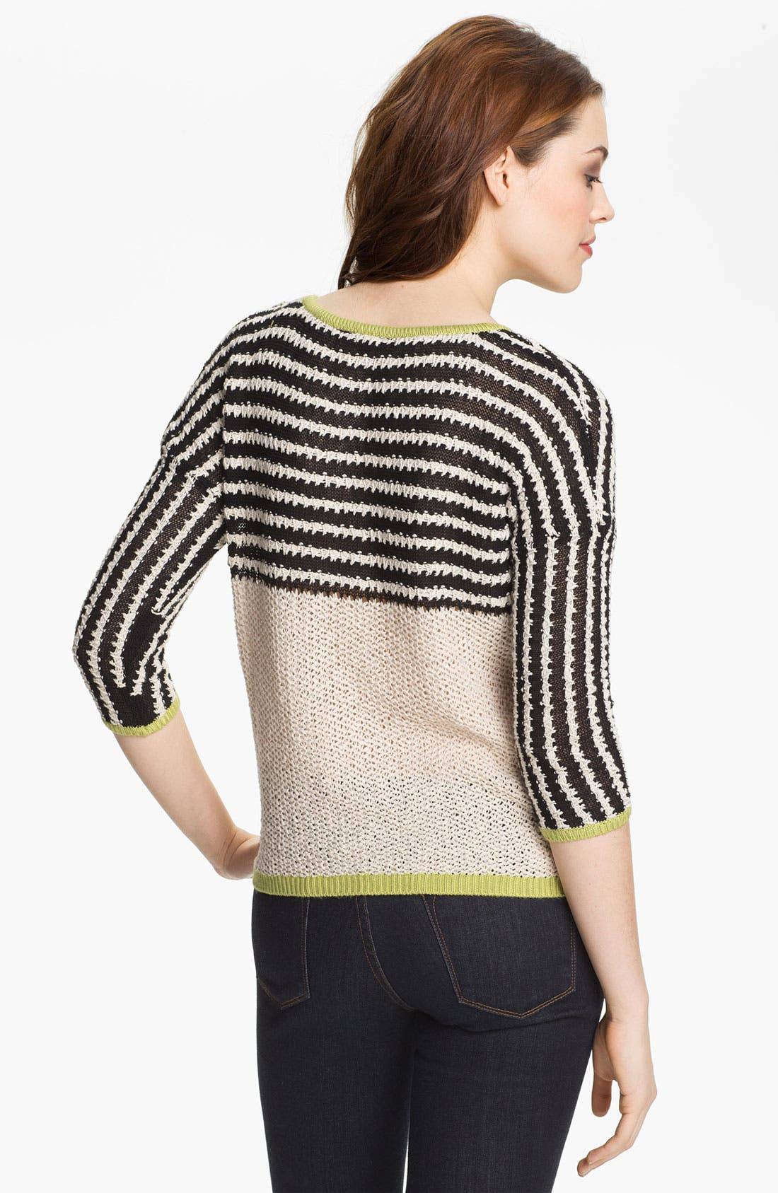 Alternate Image 2  - Max & Mia Stripe Sweater