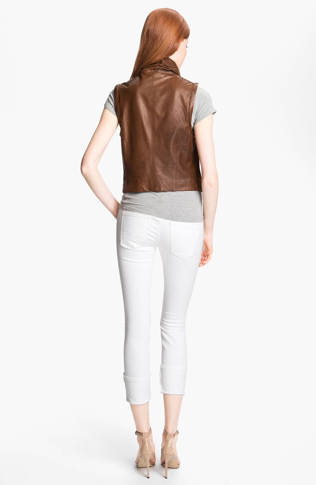 Alternate Image 5  - Veda 'Max' Convertible Leather Jacket