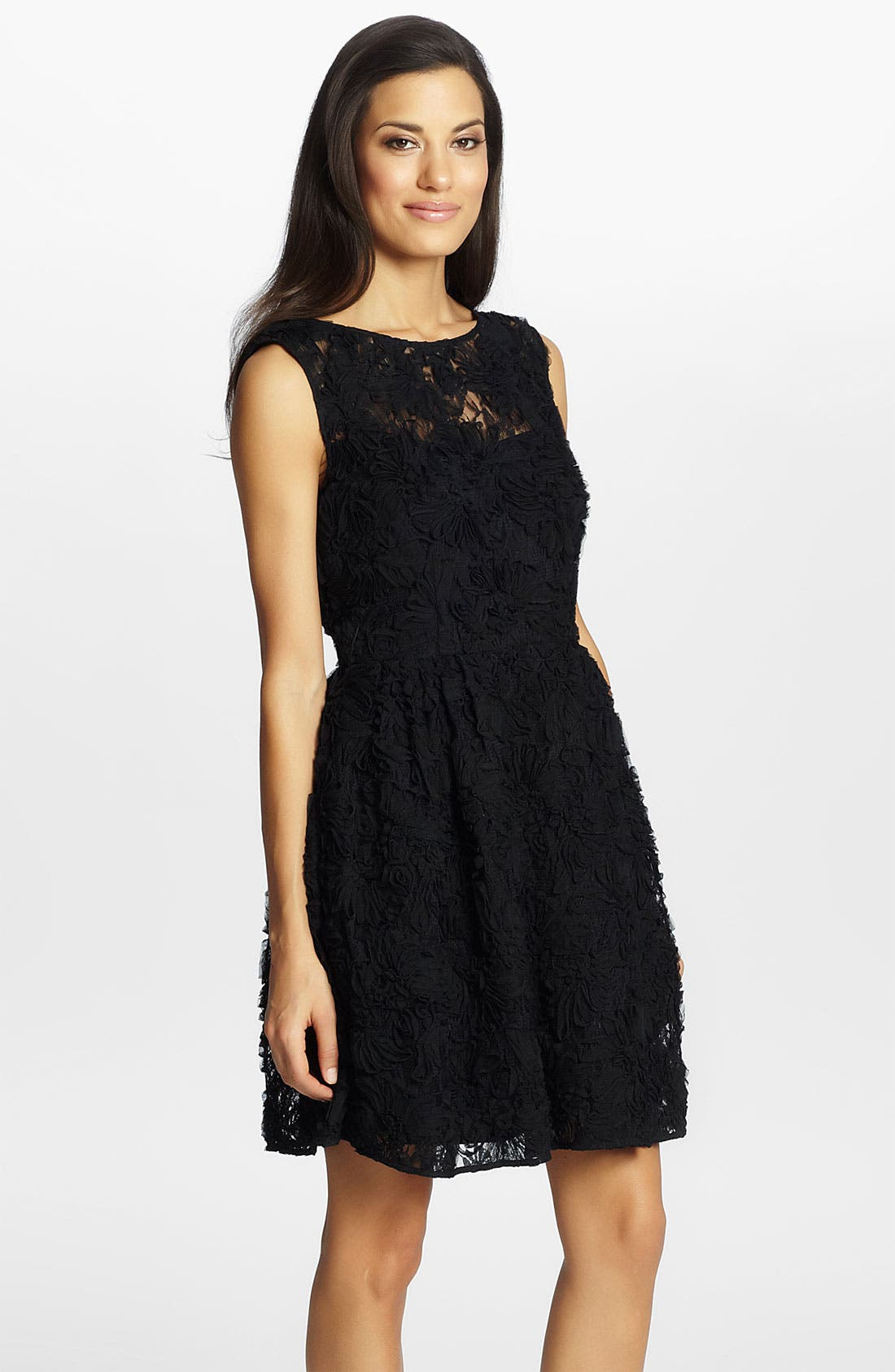 Alternate Image 1 Selected - Cynthia Steffe 'Trixie' Lace Fit & Flare Dress