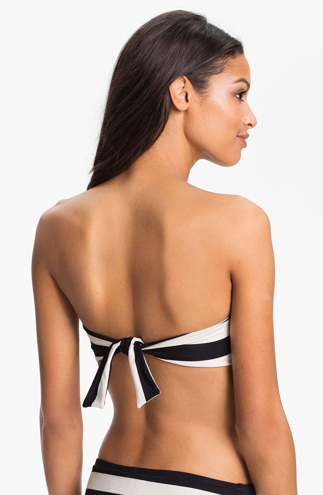 Alternate Image 2  - La Blanca 'Dapper Derby' Bandeau Bikini Top