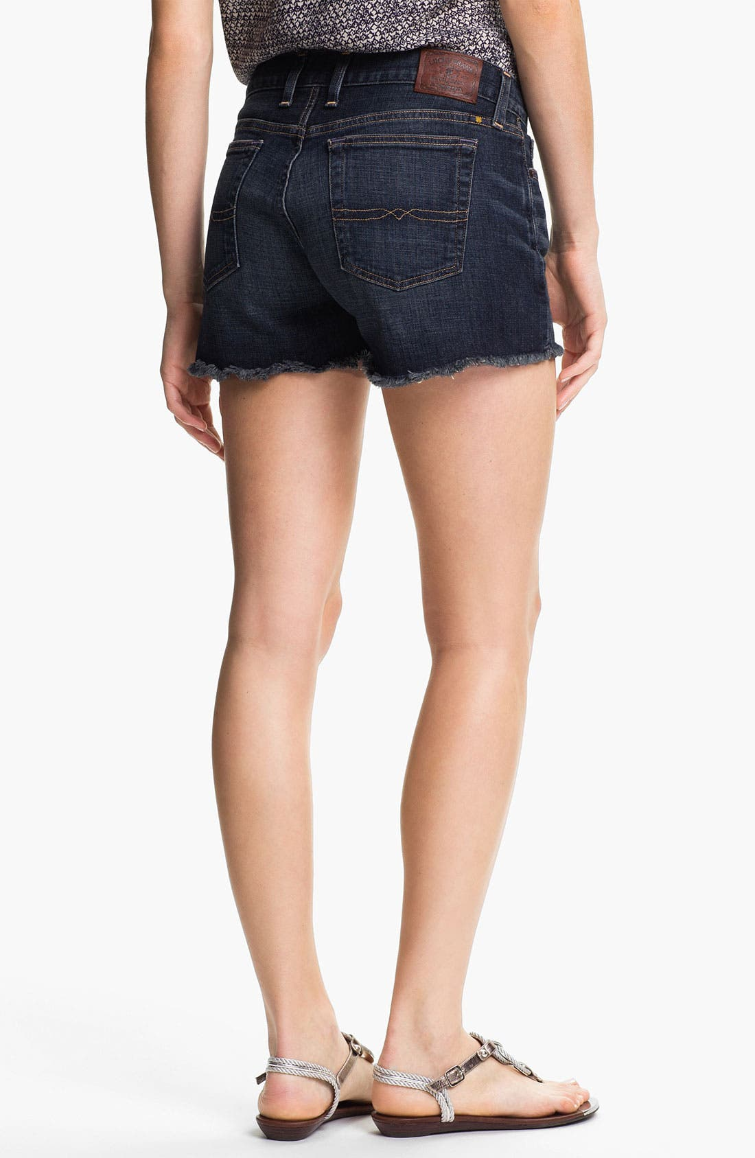 Alternate Image 2  - Lucky Brand 'Riley' Denim Shorts (Surfwood)