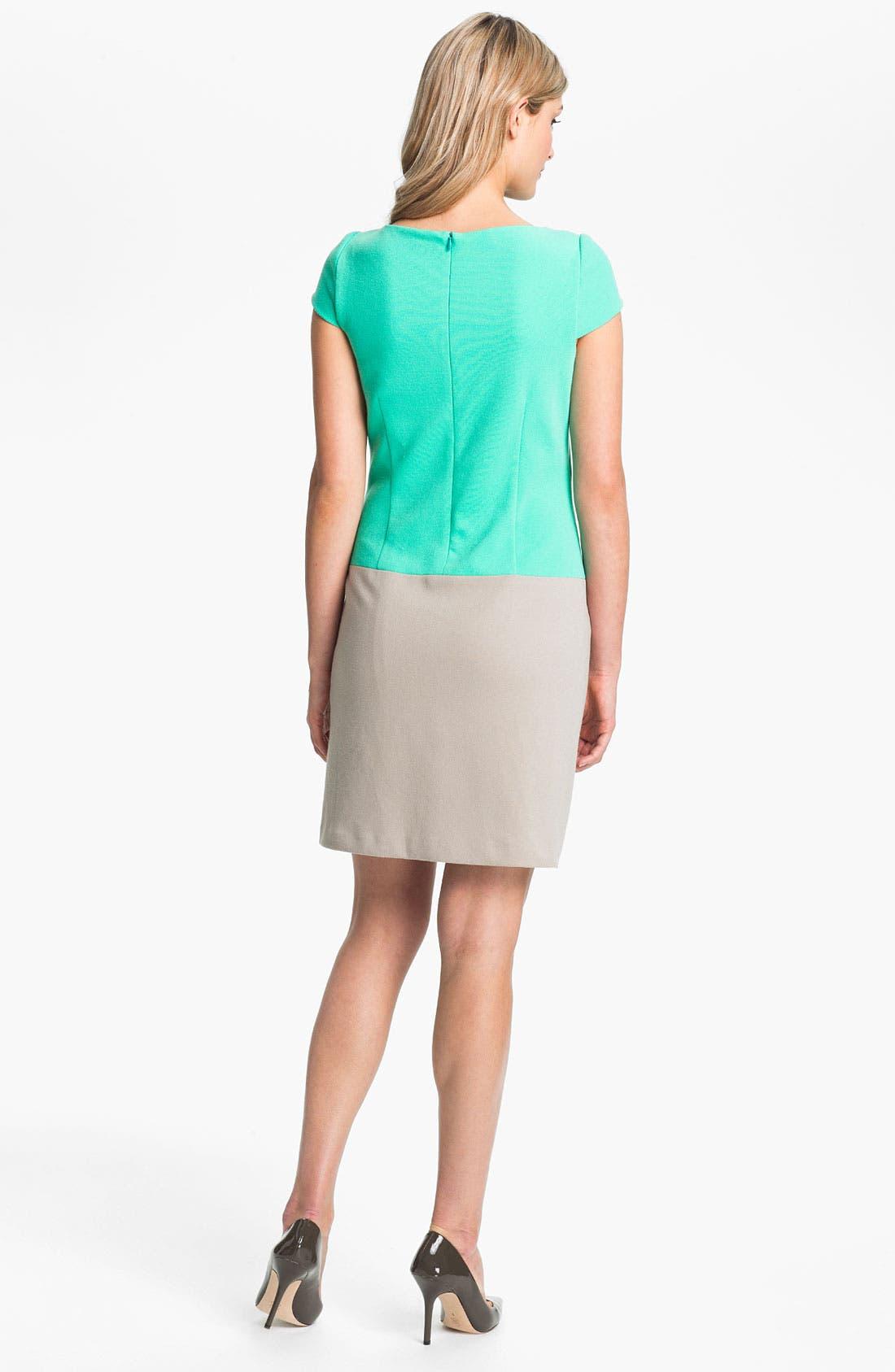 Alternate Image 2  - Eliza J Colorblock Shift Dress