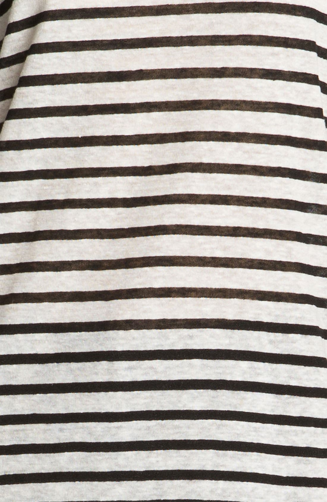 Alternate Image 4  - T by Alexander Wang Stripe Linen Tee