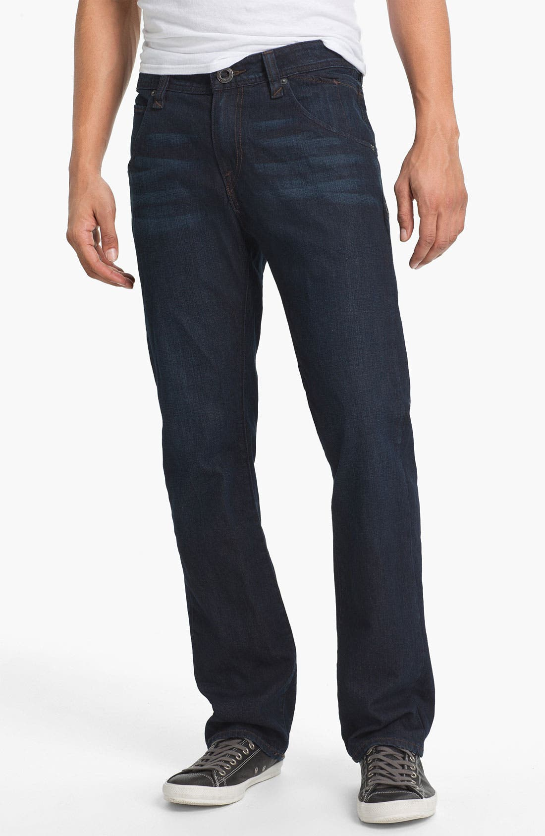 Alternate Image 2  - Volcom 'Nova' Slim Straight Leg Jeans (VC02) (Online Only)
