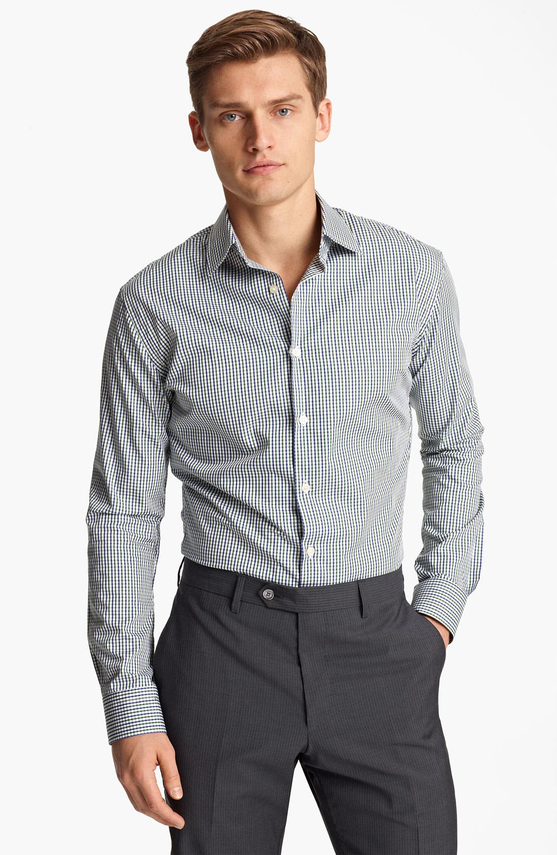 Main Image - Paul Smith London Gingham Check Shirt