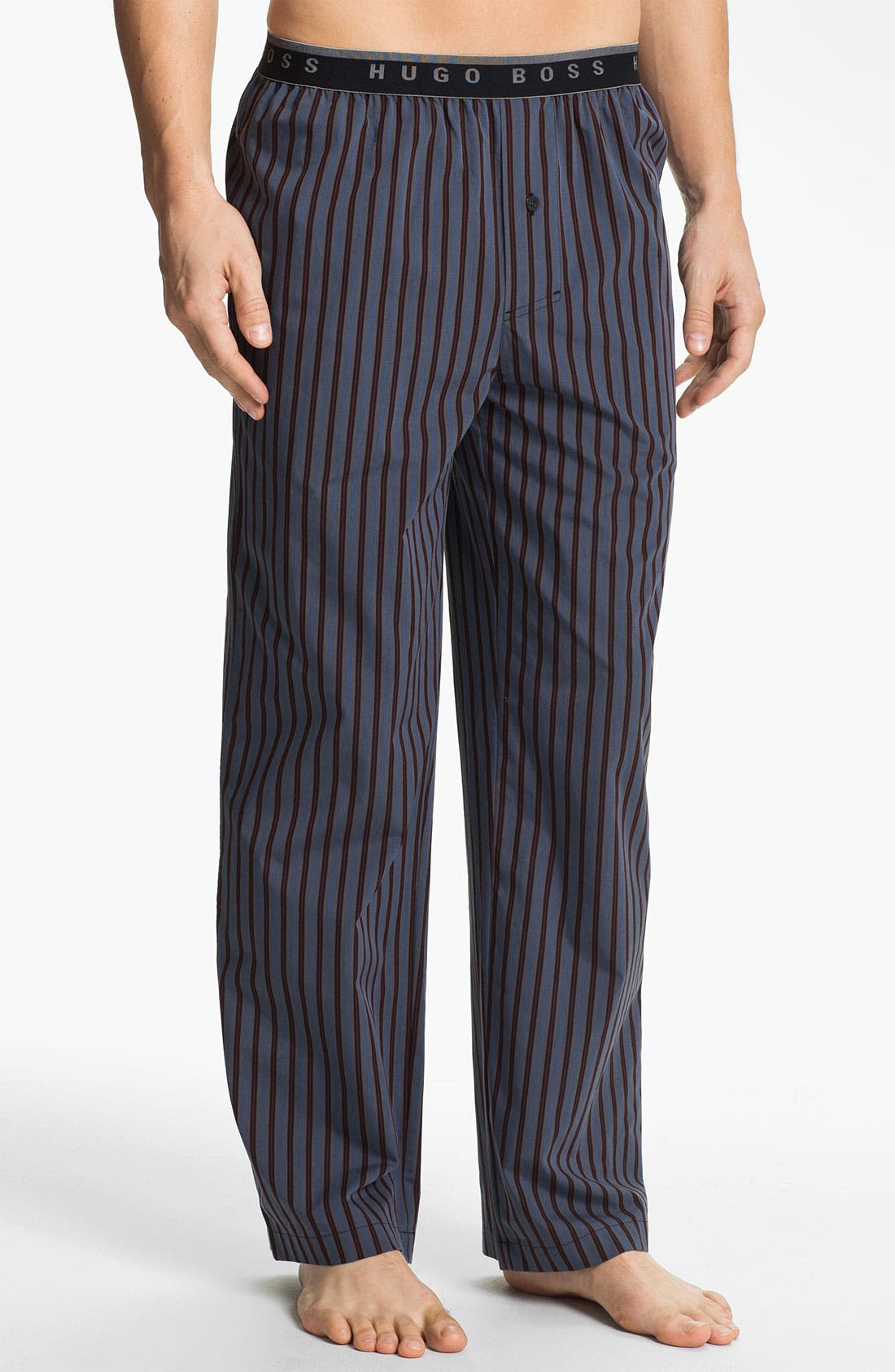 Alternate Image 1 Selected - BOSS Black 'Innovation 1' Plaid Lounge Pants