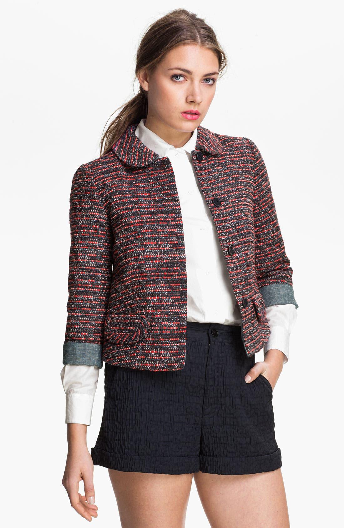 Alternate Image 1 Selected - MARC BY MARC JACOBS 'Miranda' Tweed Jacket