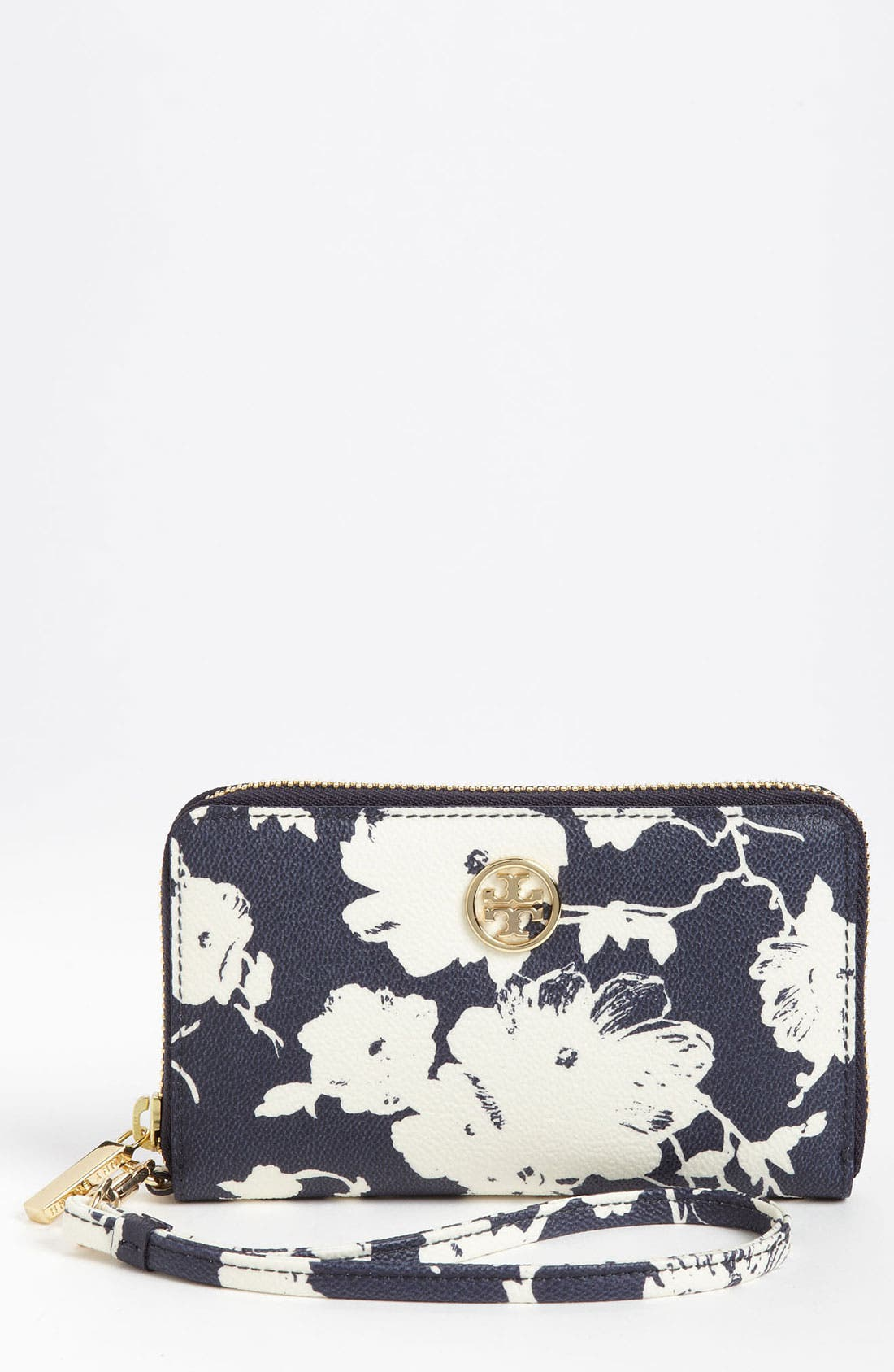 Main Image - Tory Burch 'Robinson' Phone Wallet