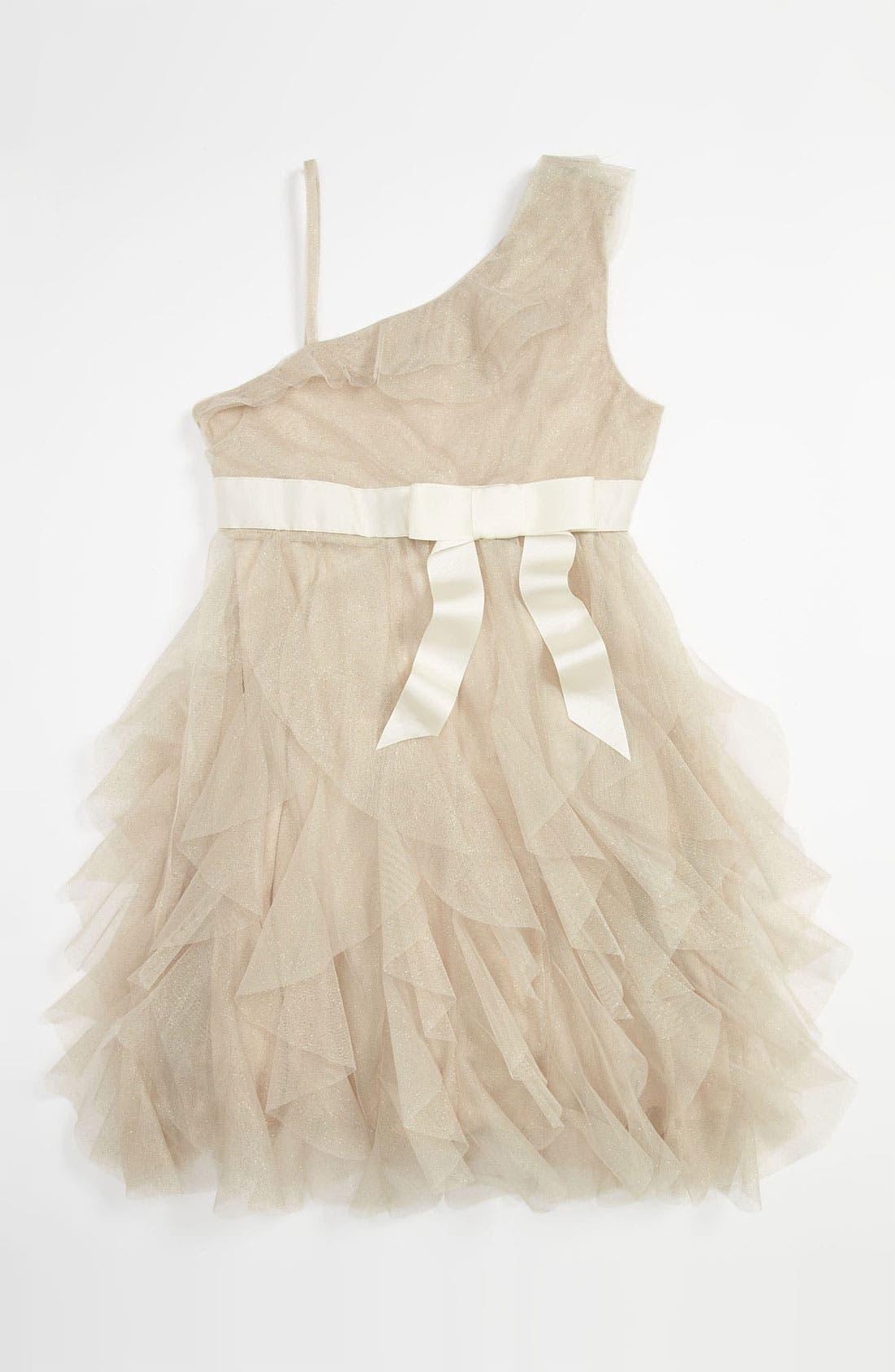Main Image - Jessica McClintock 'Sophie' Dress (Big Girls)