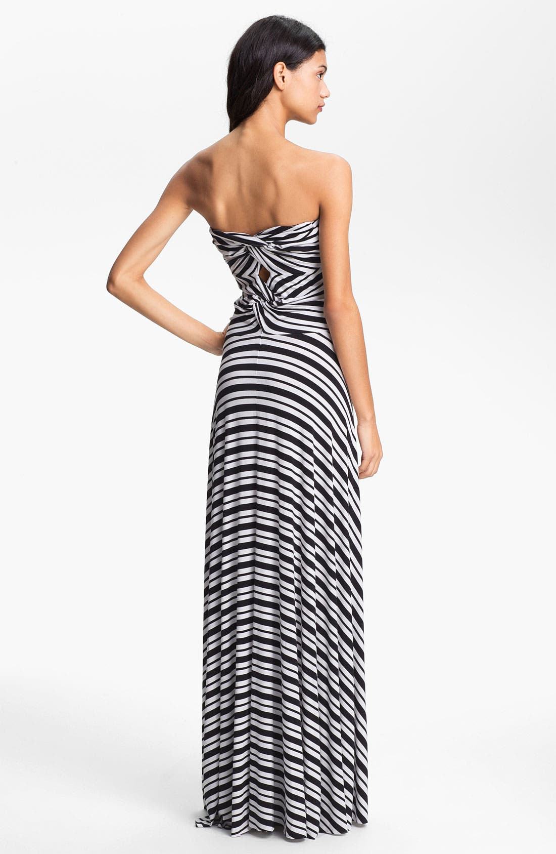 Alternate Image 2  - Felicity & Coco Stripe Strapless Maxi Dress (Nordstrom Exclusive)
