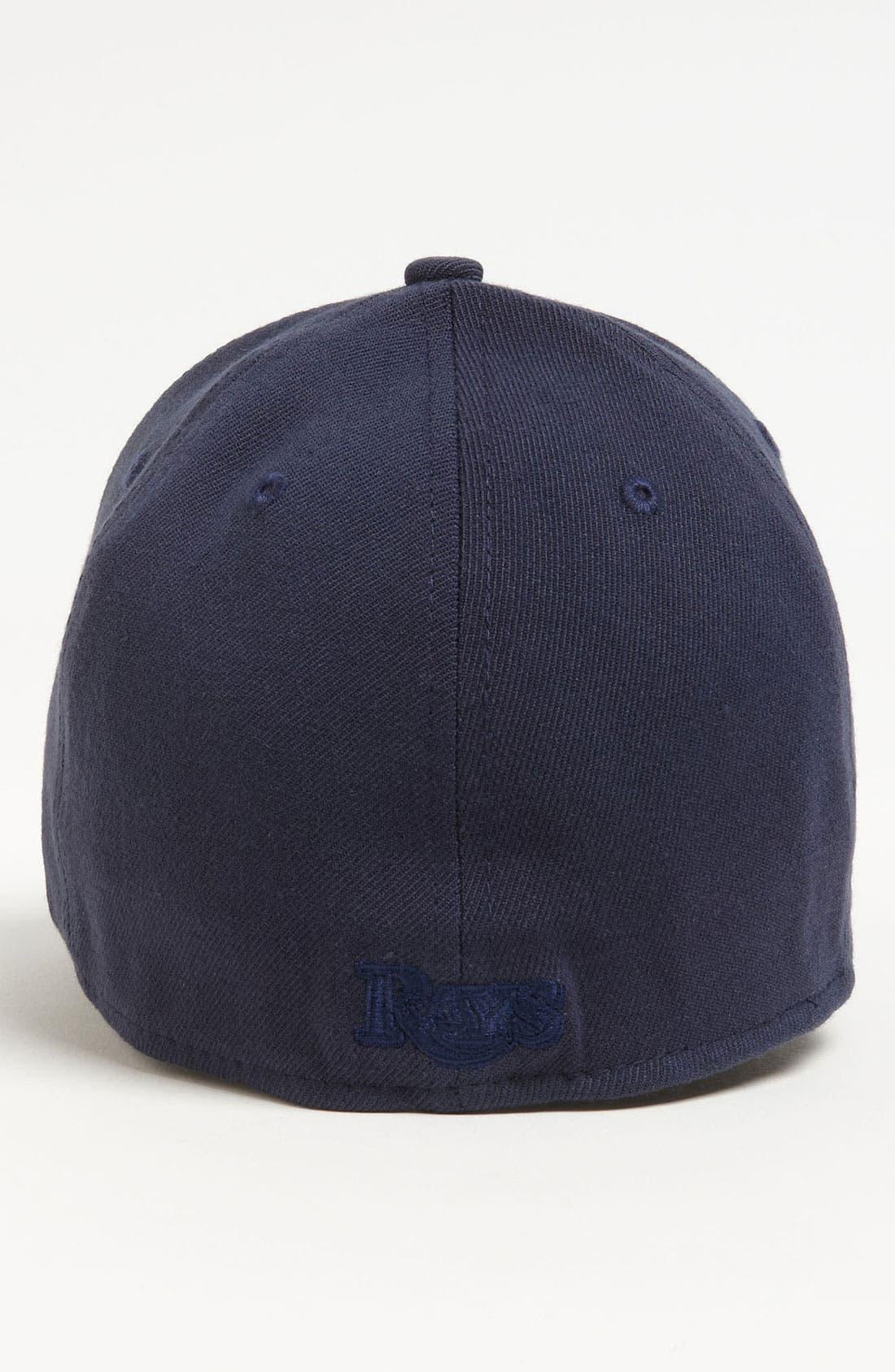 Alternate Image 2  - New Era Cap 'Tampa Bay Rays - Tonal Classic' Fitted Baseball Cap