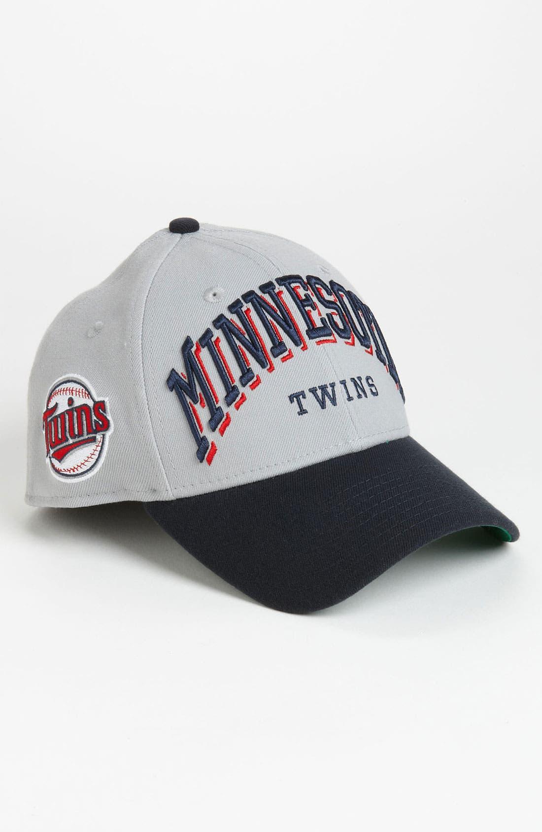 Alternate Image 2  - New Era Cap 'Minnesota Twins - Arch Mark' Fitted Baseball Cap