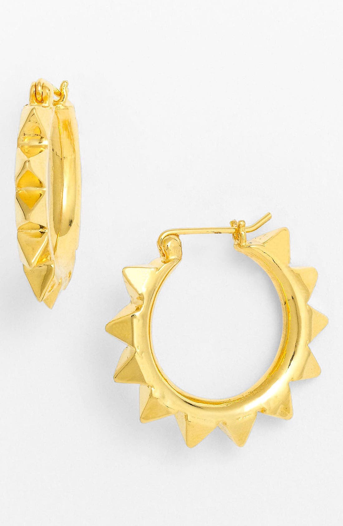 Main Image - Tom Binns 'Protopunk - Small' Stud Hoop Earrings