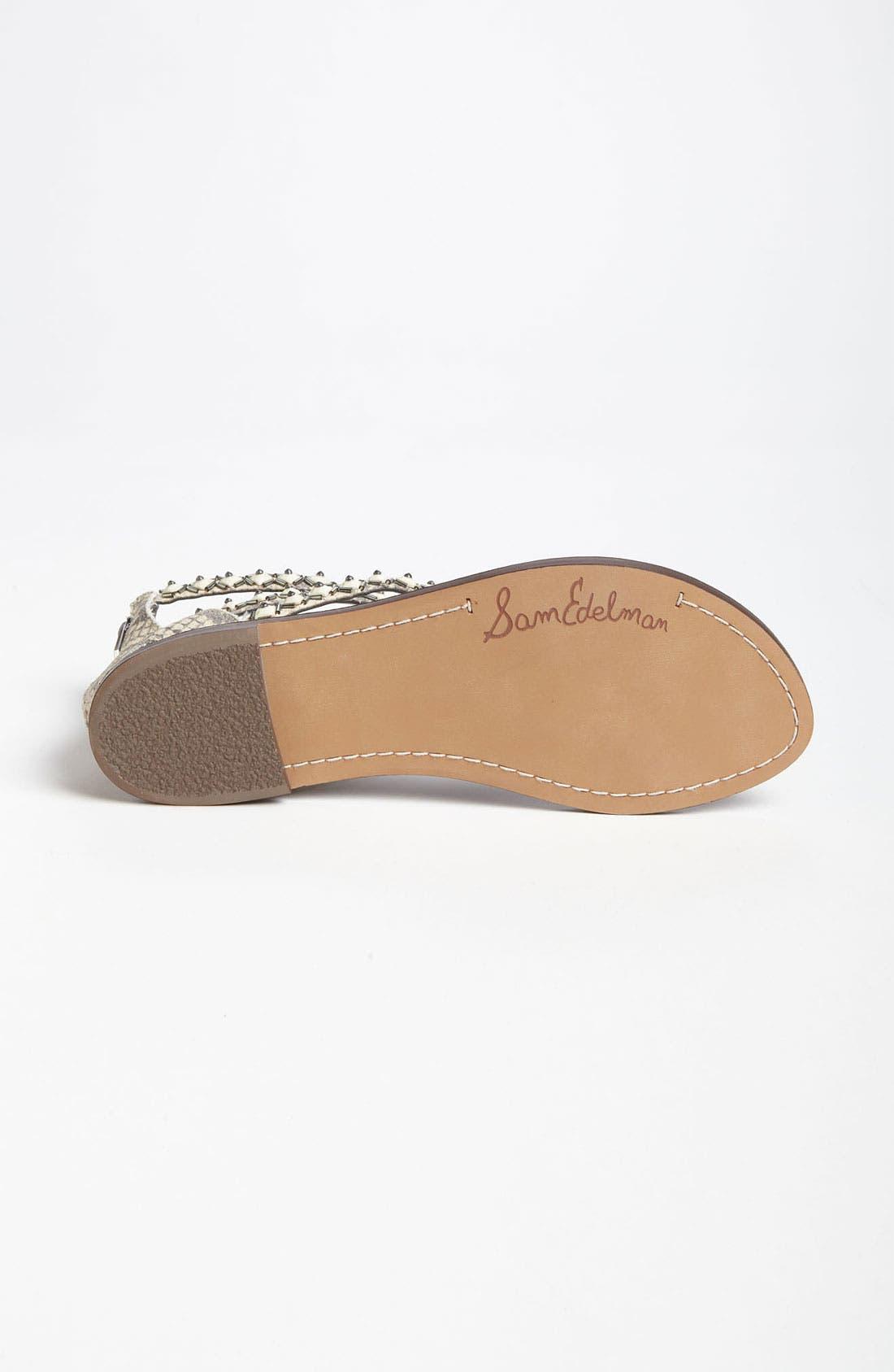 Alternate Image 4  - Sam Edelman 'Greyson' Sandal