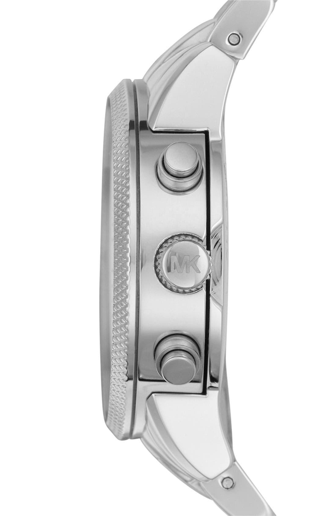 Alternate Image 2  - Michael Kors 'The Ritz' Chronograph Bracelet Watch, 36mm