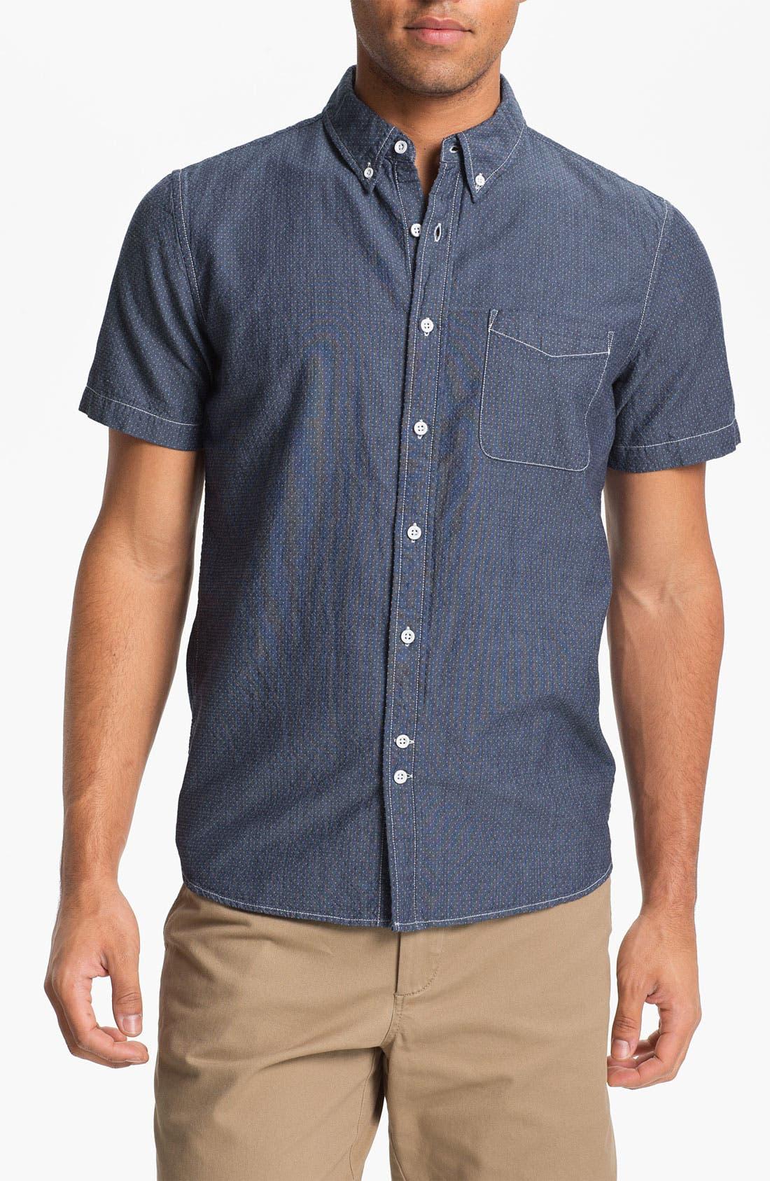 Alternate Image 1 Selected - AG Jeans Slim Fit Short Sleeve Sport Shirt