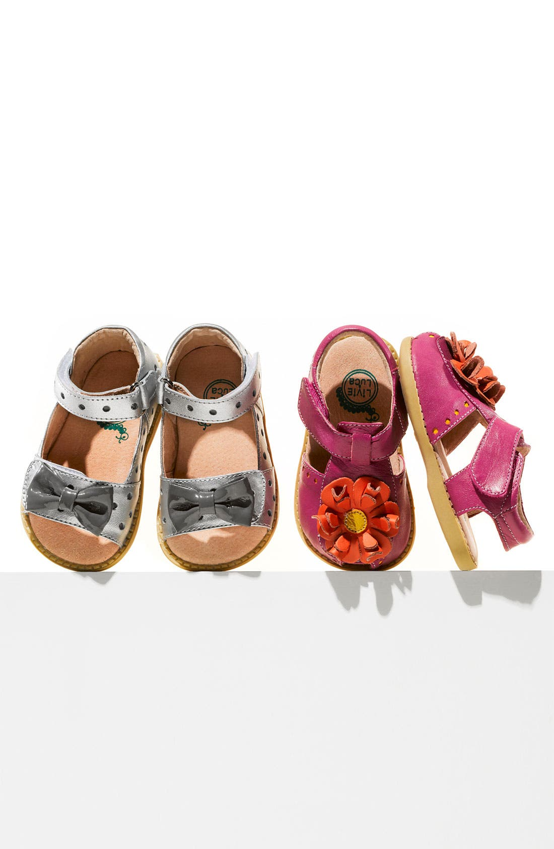 Alternate Image 5  - Livie & Luca 'Bloom' Sandal (Baby, Walker & Toddler)