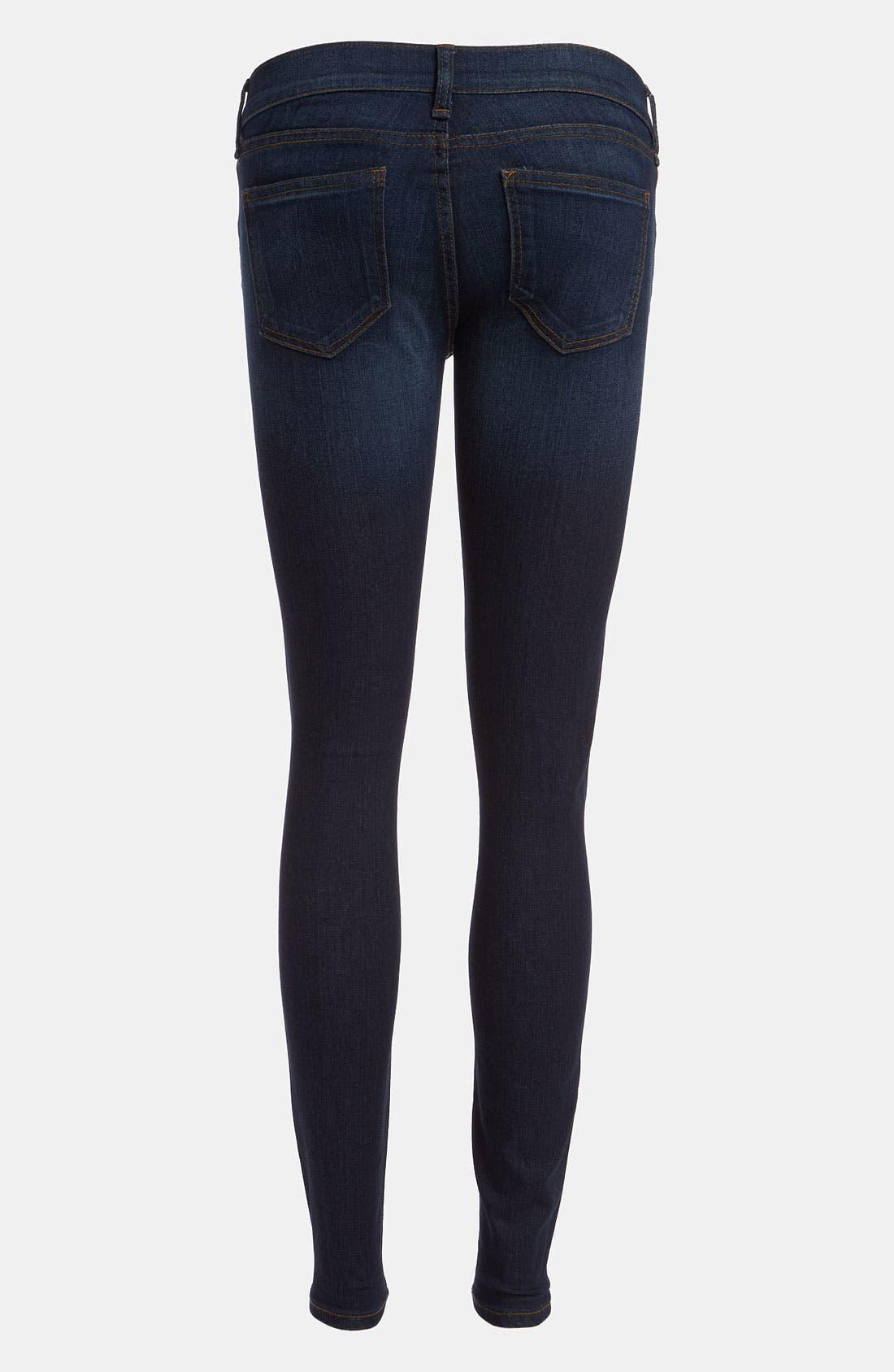Alternate Image 2  - edyson 'Sloan' Skinny Jeans (Dark Atlantic)