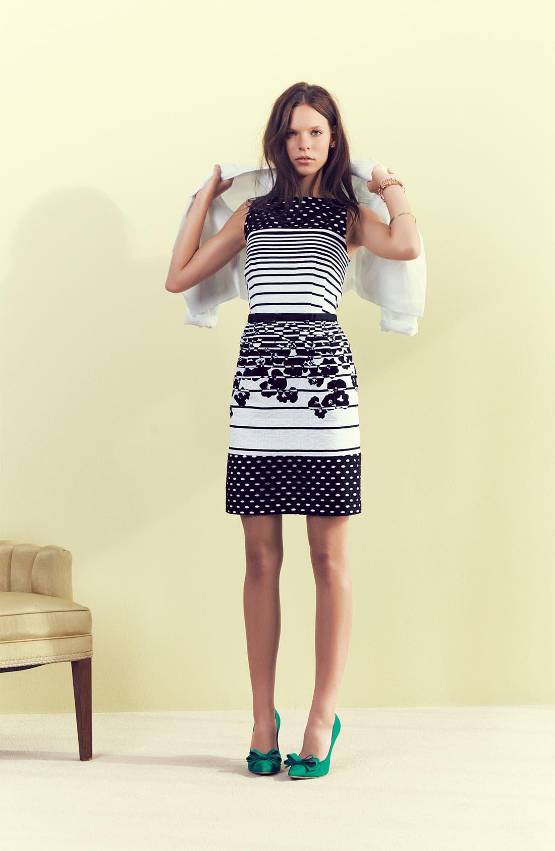 Alternate Image 1 Selected - Taylor Dresses Dress, Halogen® Blazer & Accessories