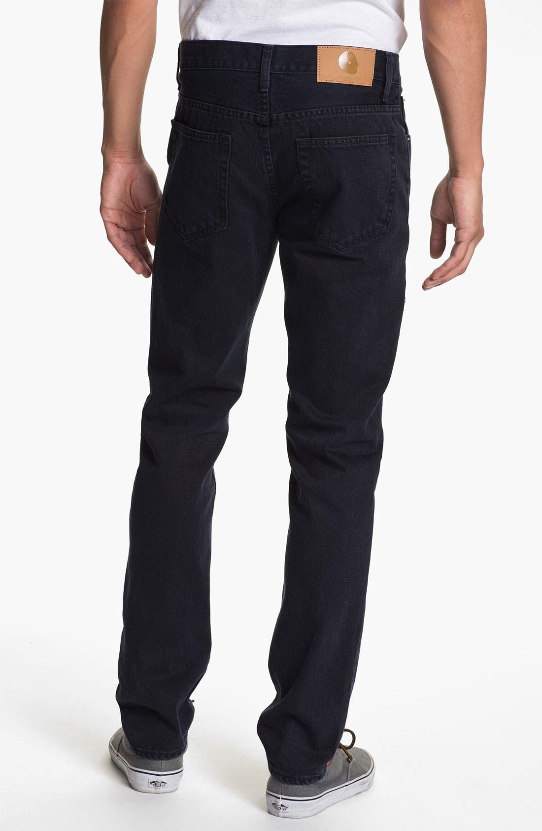 Alternate Image 1 Selected - Cheap Monday High Slim Leg Jeans (Blue Tonal)