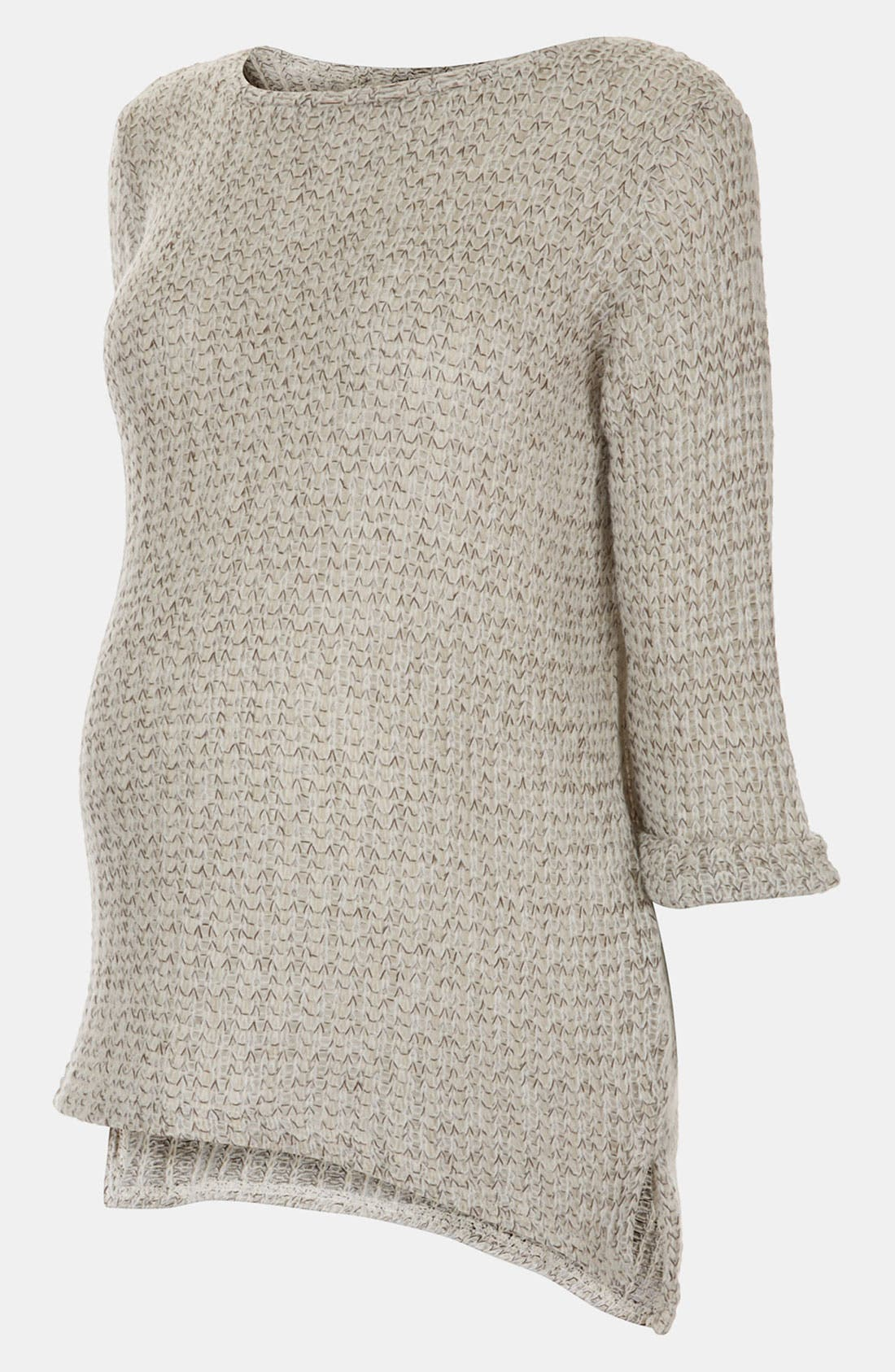 Alternate Image 1 Selected - Topshop Maternity Fisherman Sweater